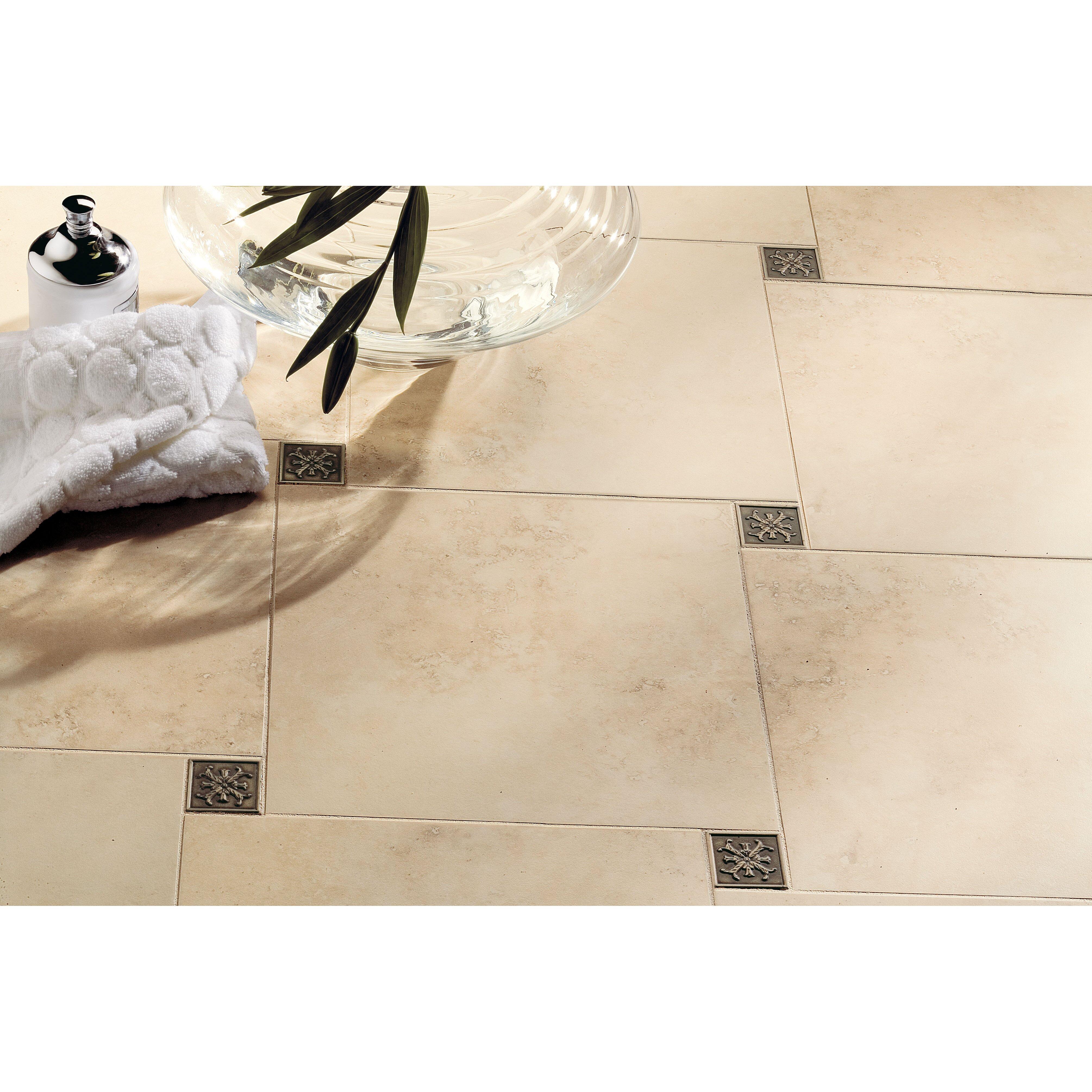 13x13 Marfil Chiaro Tile Mohawk Flooring Mirador X Floor Tile In Cameo