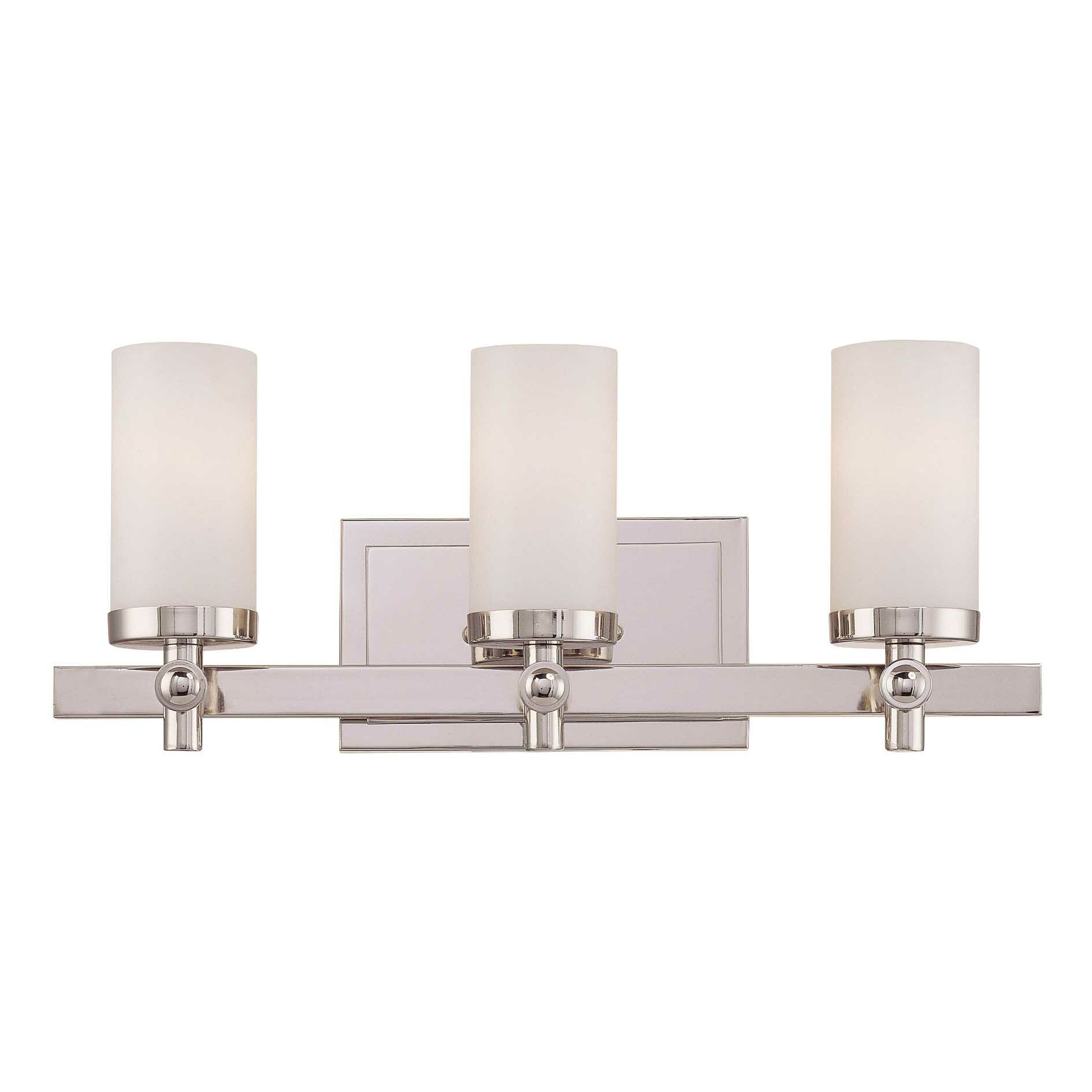 Savoy House Manhattan 3 Light Bath Vanity Light & Reviews Wayfair