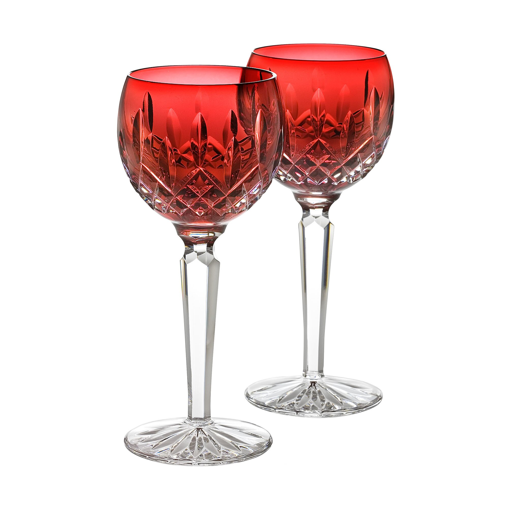 Waterford Lismore Crimson Red Wine Glass & Reviews | Wayfair