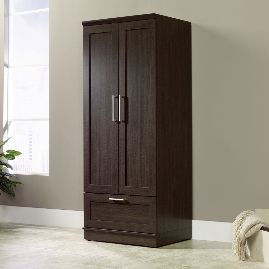 Sauder Homeplus Wardrobe Armoire Amp Reviews Wayfair