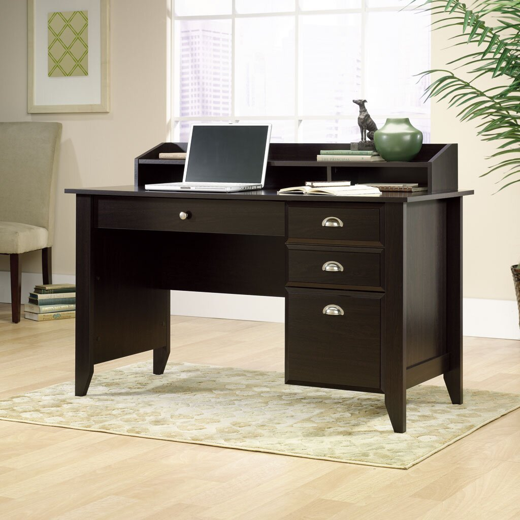 andover mills drake 4 drawer writing desk reviews wayfair. Black Bedroom Furniture Sets. Home Design Ideas