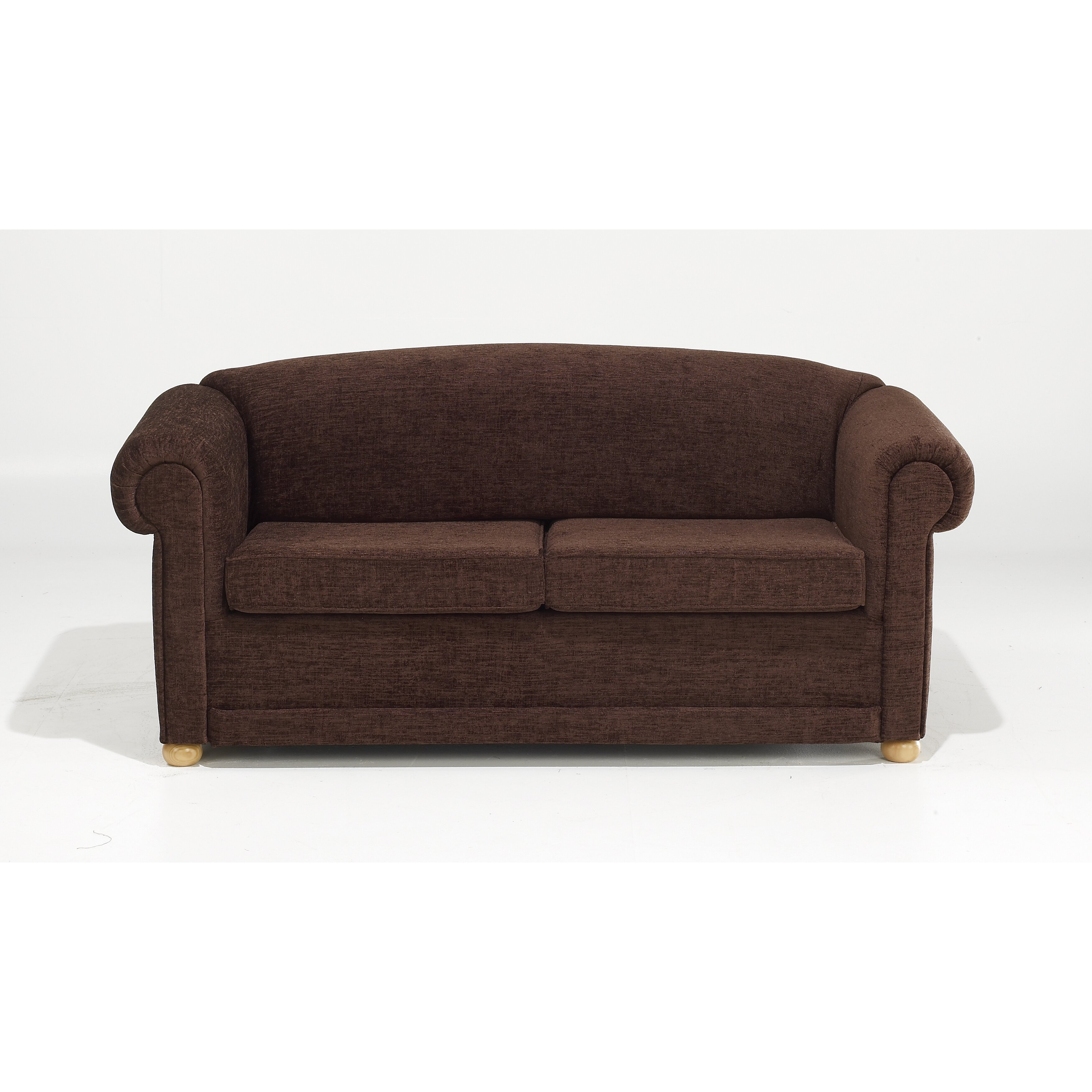 churchfield chesterfield 2 seater fold out loveseat. Black Bedroom Furniture Sets. Home Design Ideas