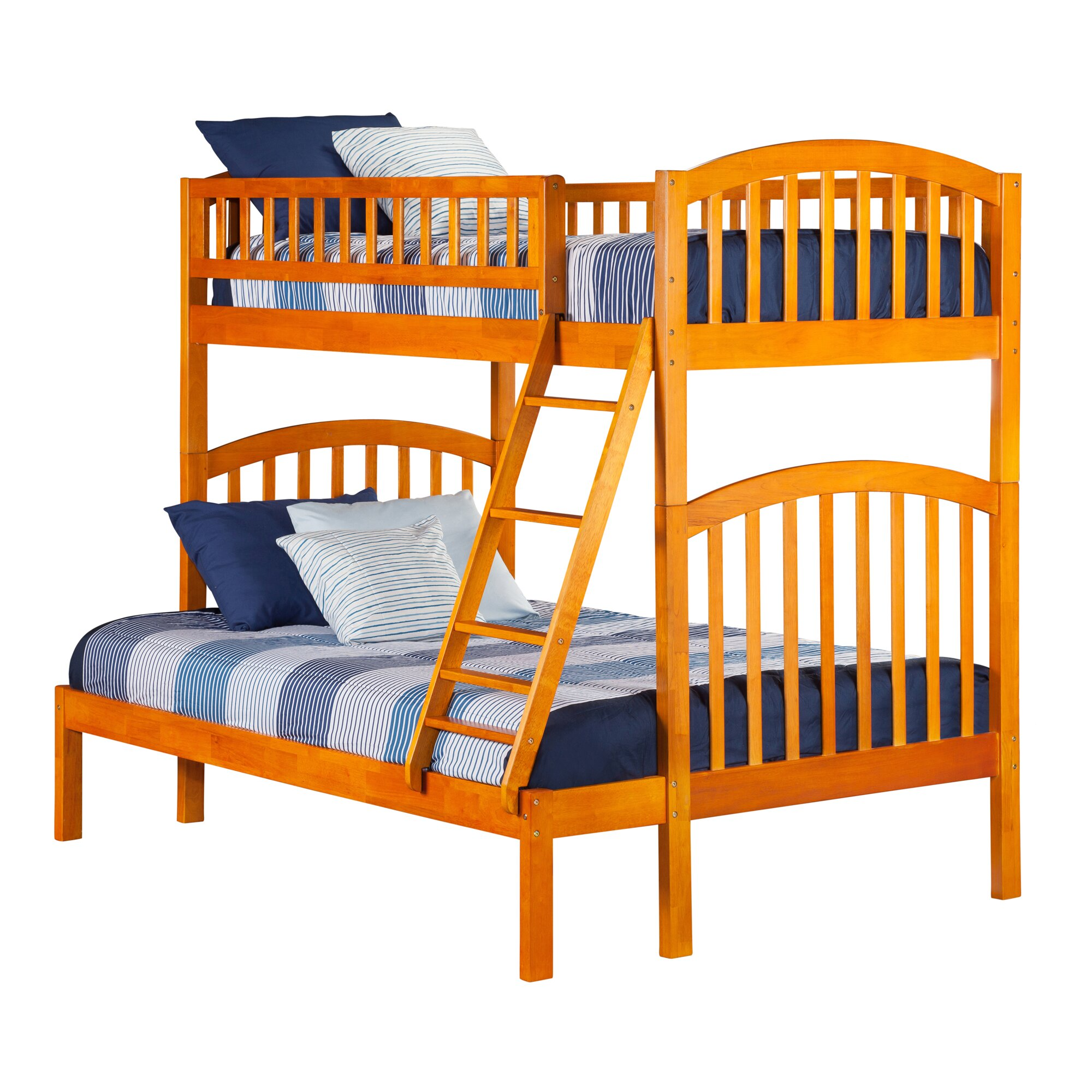 Atlantic Furniture Richland Twin over Full Bunk Bed ...