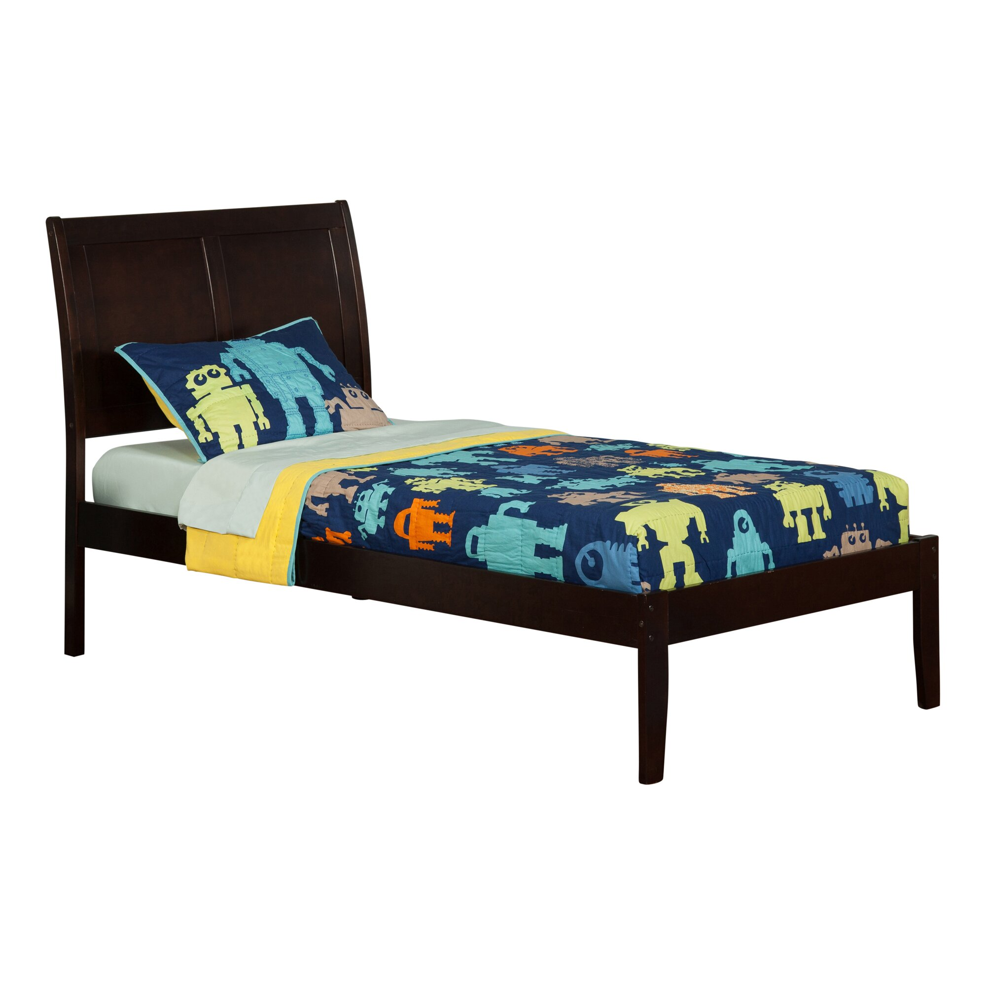 Atlantic Furniture Portland Extra Long Twin Sleigh Bed ...