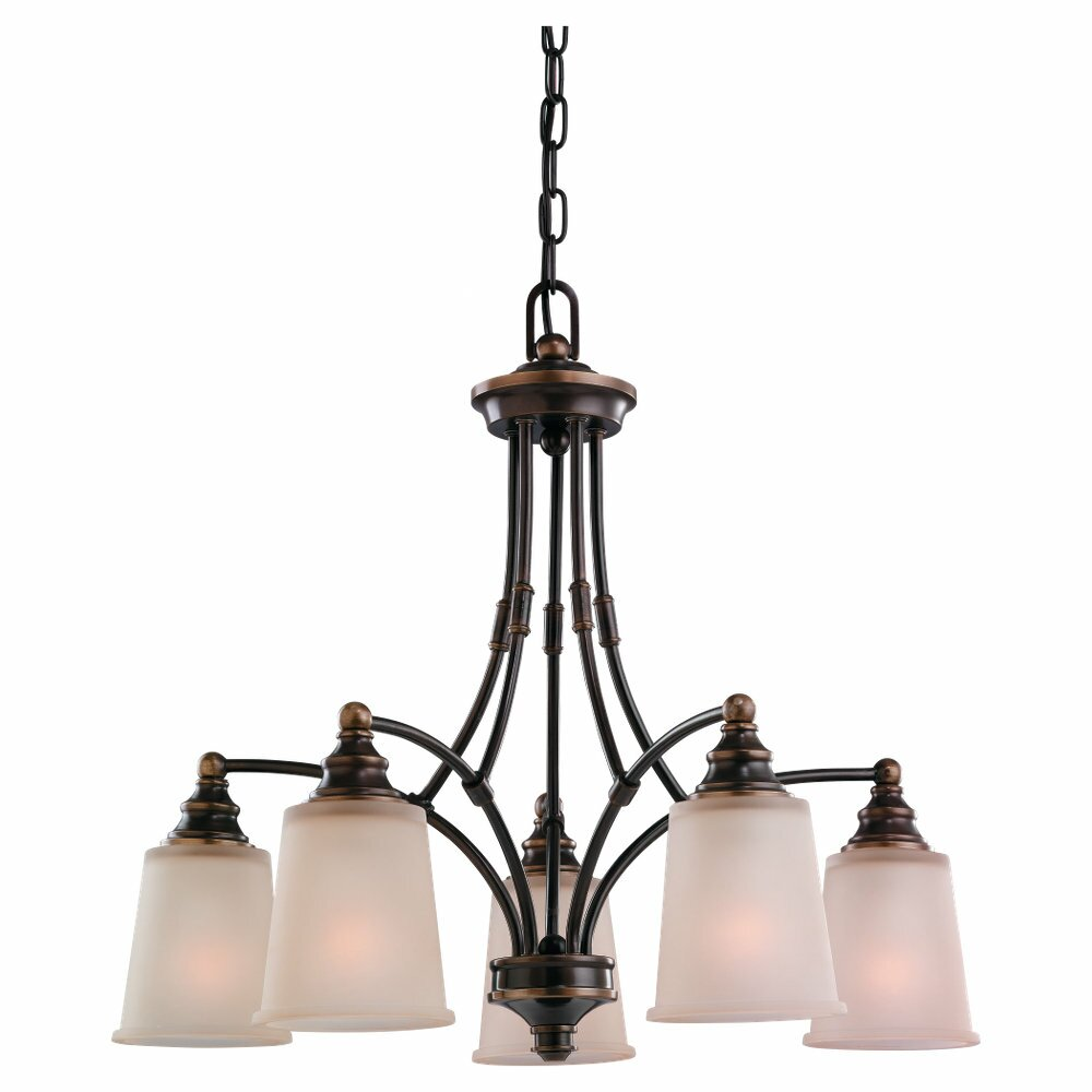 Wayfair Chandelier: Sea Gull Lighting Warwick 5 Light Chandelier & Reviews