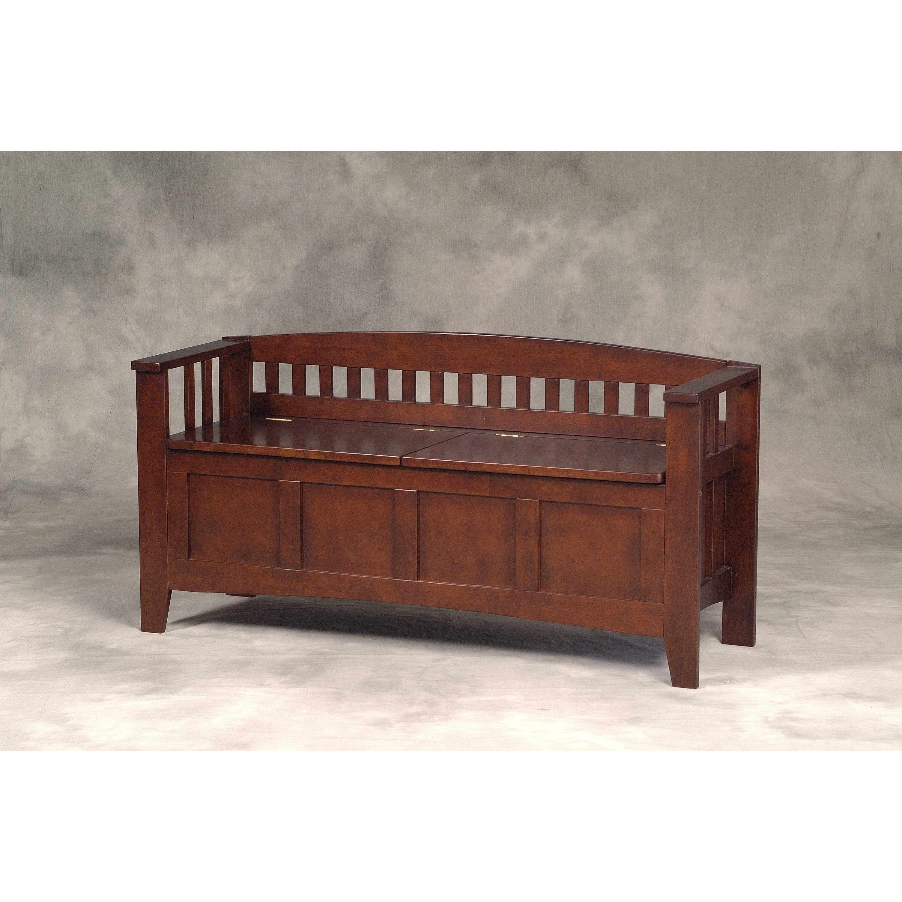 Three Posts Bridgewater Wood Storage Bench Reviews Wayfair