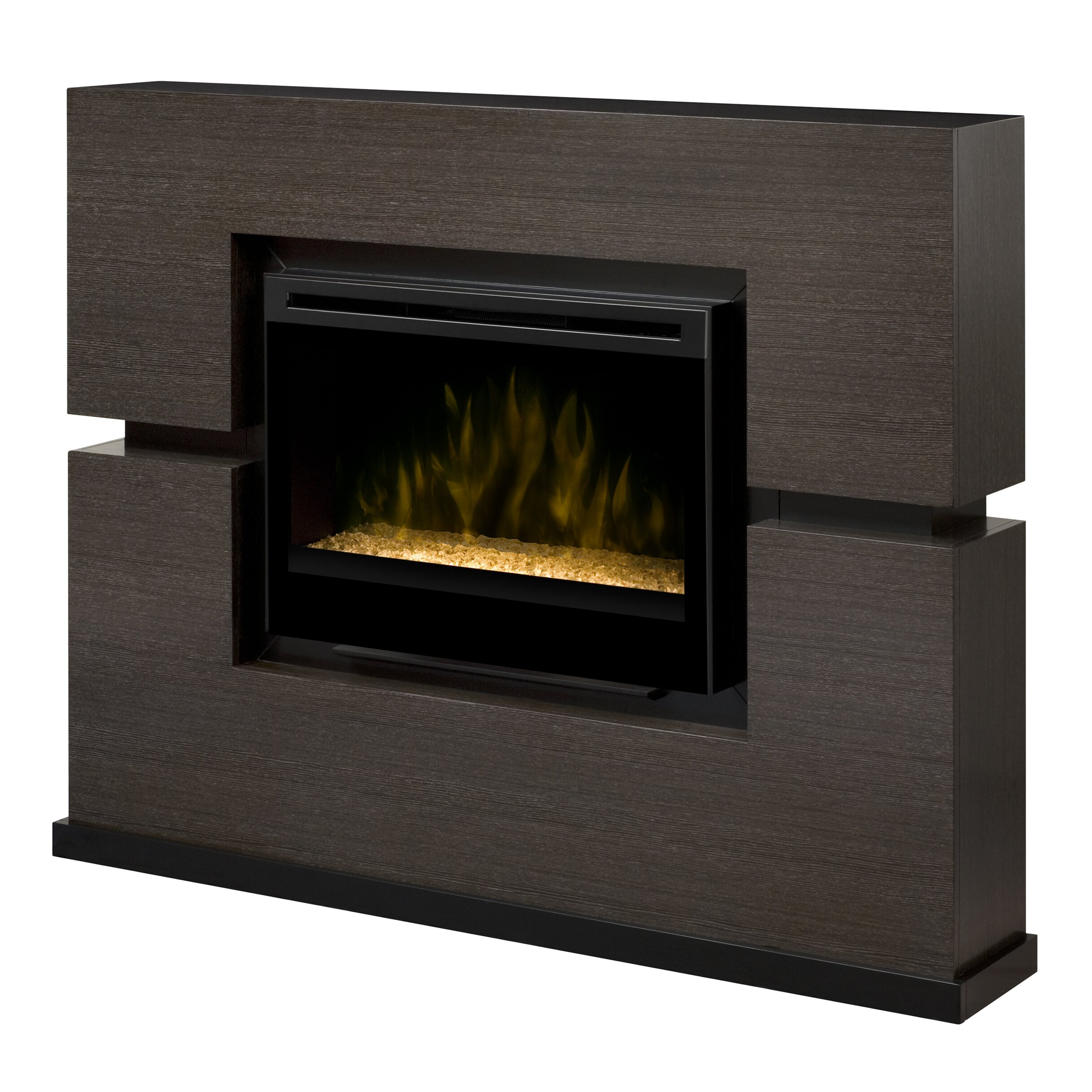 Dimplex Linwood Mantel Electric Ember Bed Fireplace ...