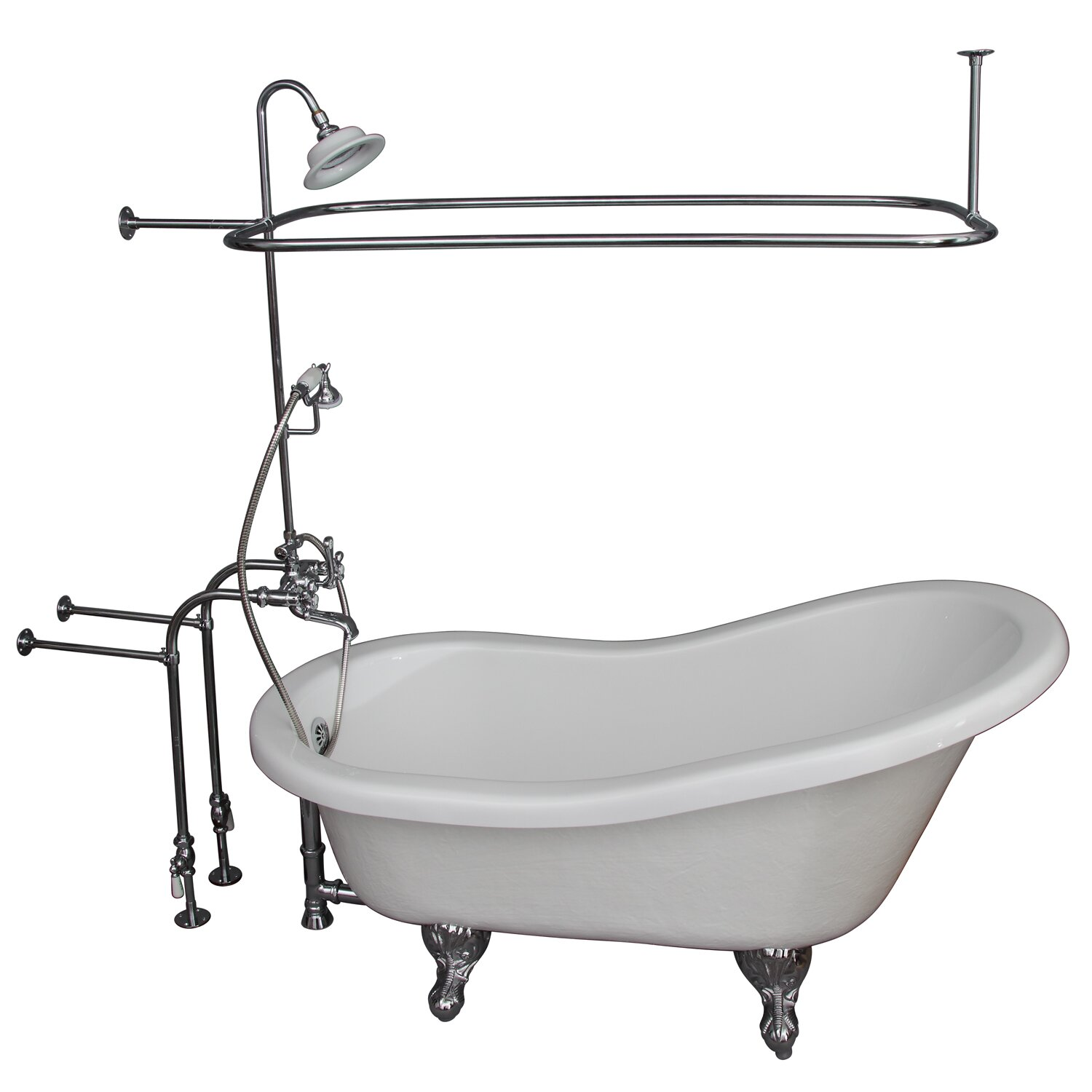 60 Quot X 29 5 Quot Soaking Bathtub Kit Wayfair