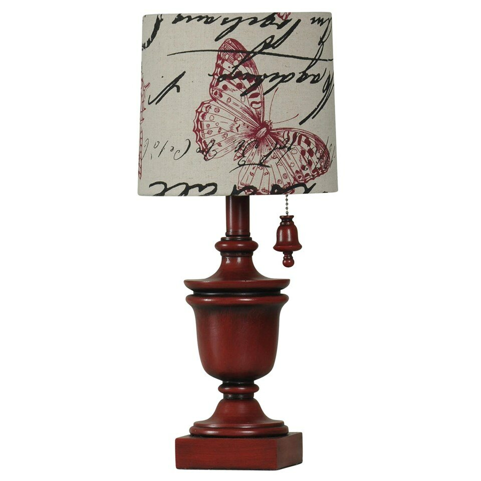 Decorative Lamp Shades : Decorative quot h table lamp with drum shade wayfair