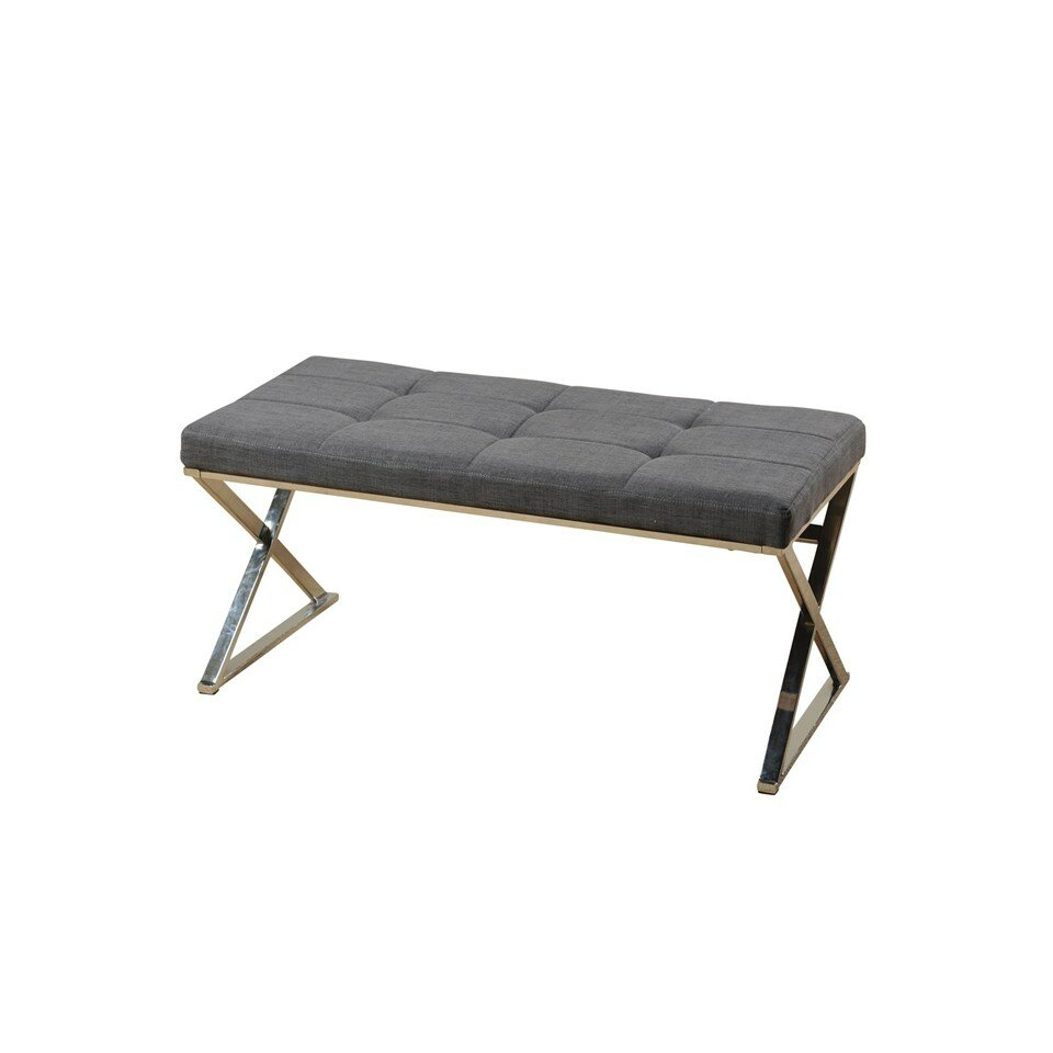 Style Craft Contemporary Upholstered Bedroom Bench Reviews Wayfair