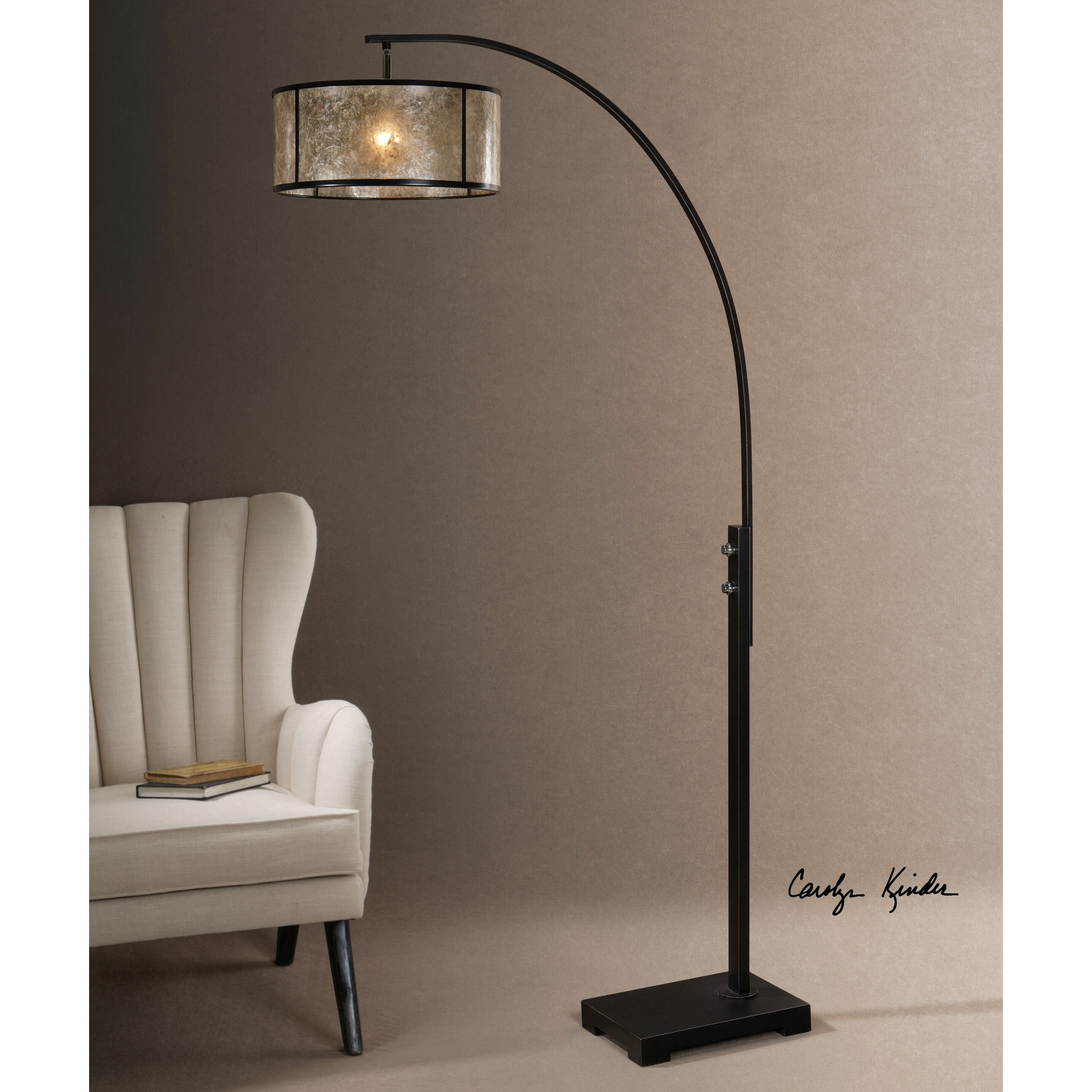 Uttermost Cairano 79 5 Quot Arched Floor Lamp Amp Reviews Wayfair
