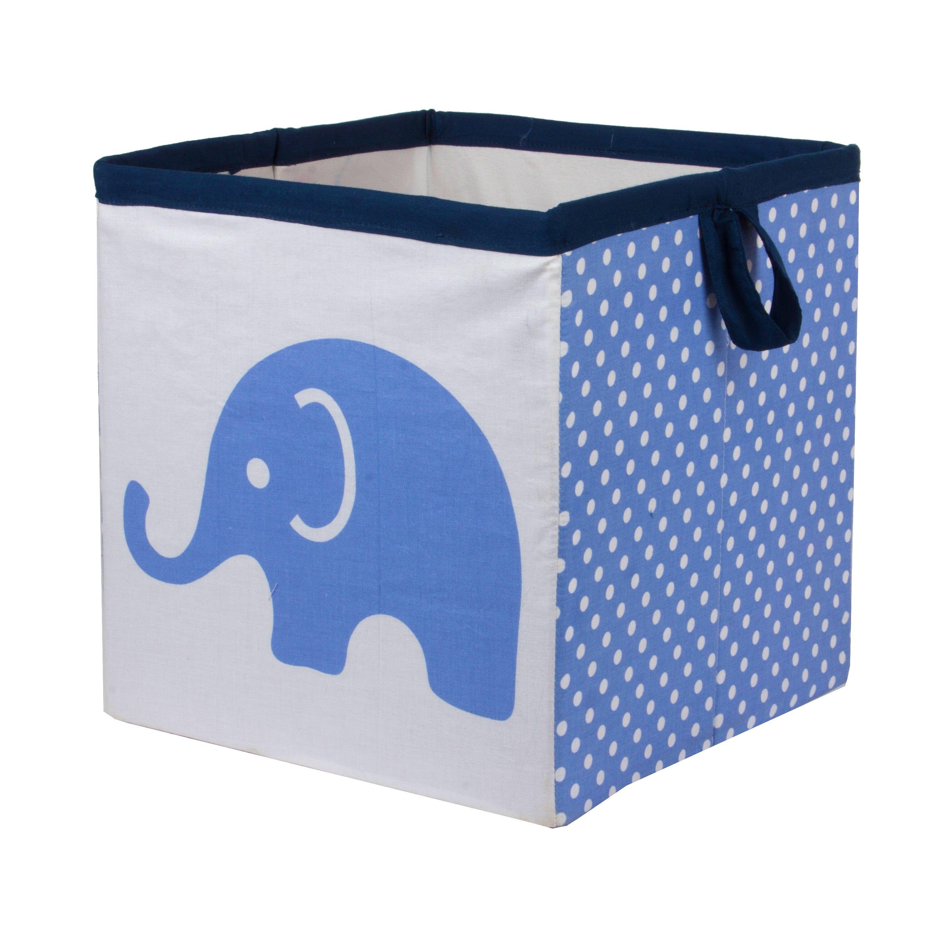 Bacati Elephants Crib Bedding