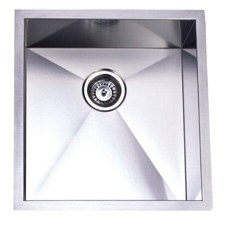 Elements Of Design X 19 Towne Square Undermount Single Bowl Kitchen Sink Reviews Wayfair