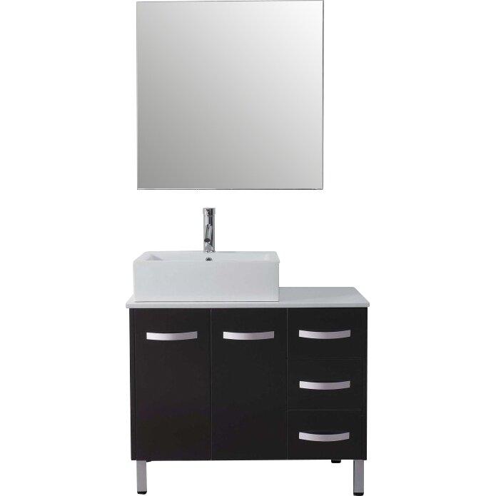Ultra Modern Series 37 Single Bathroom Vanity Set With