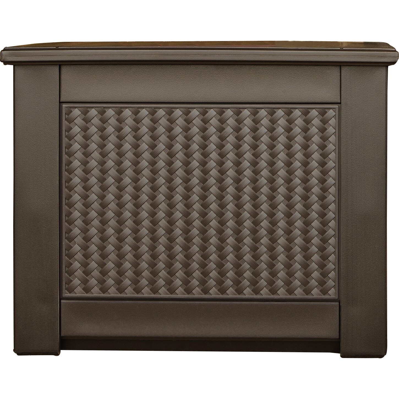 Rubbermaid Patio Chic 90 Gallon Deck Box Amp Reviews Wayfair