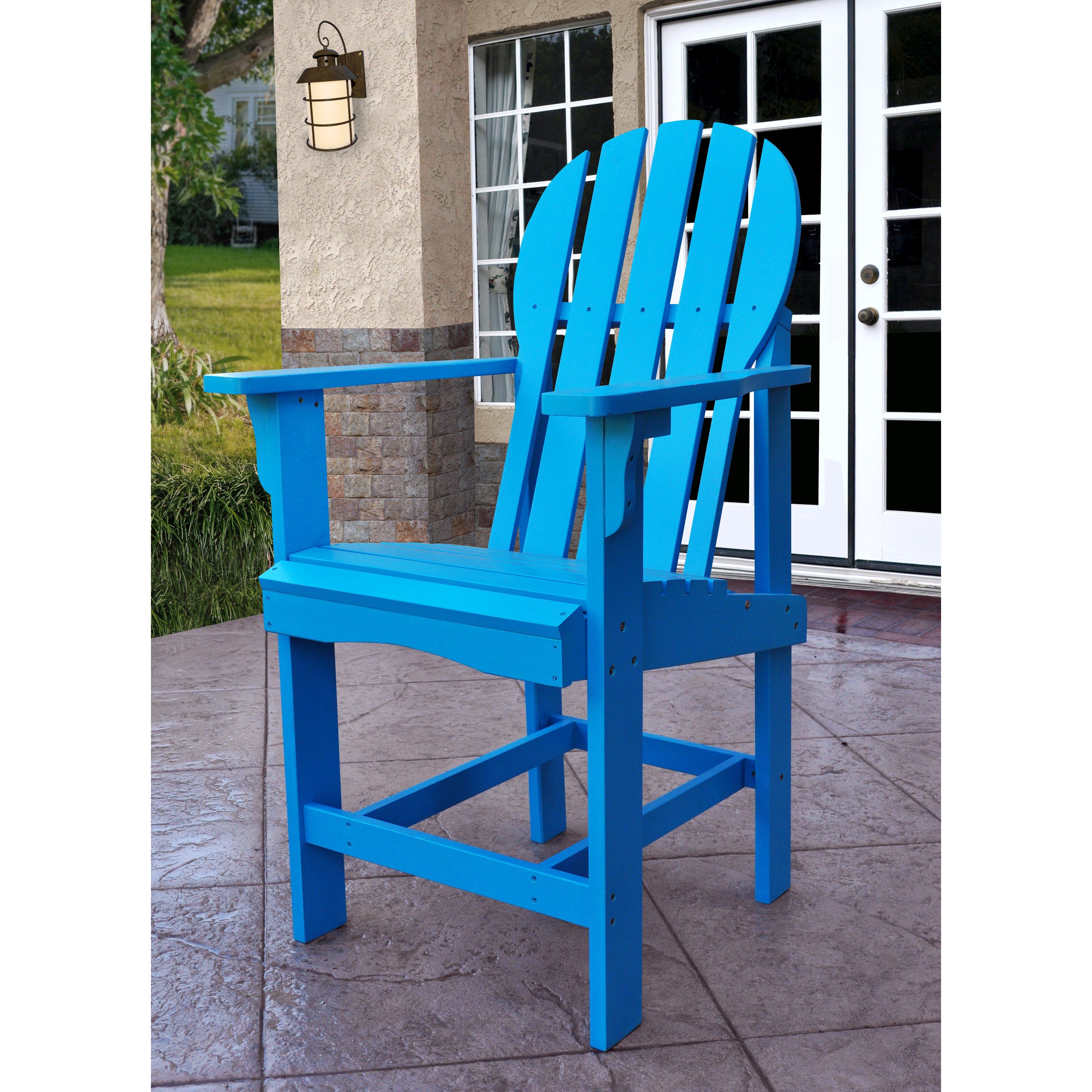 Counter Height Adirondack Chairs : ... Inc. Captiva Counter Height Adirondack Chair & Reviews Wayfair