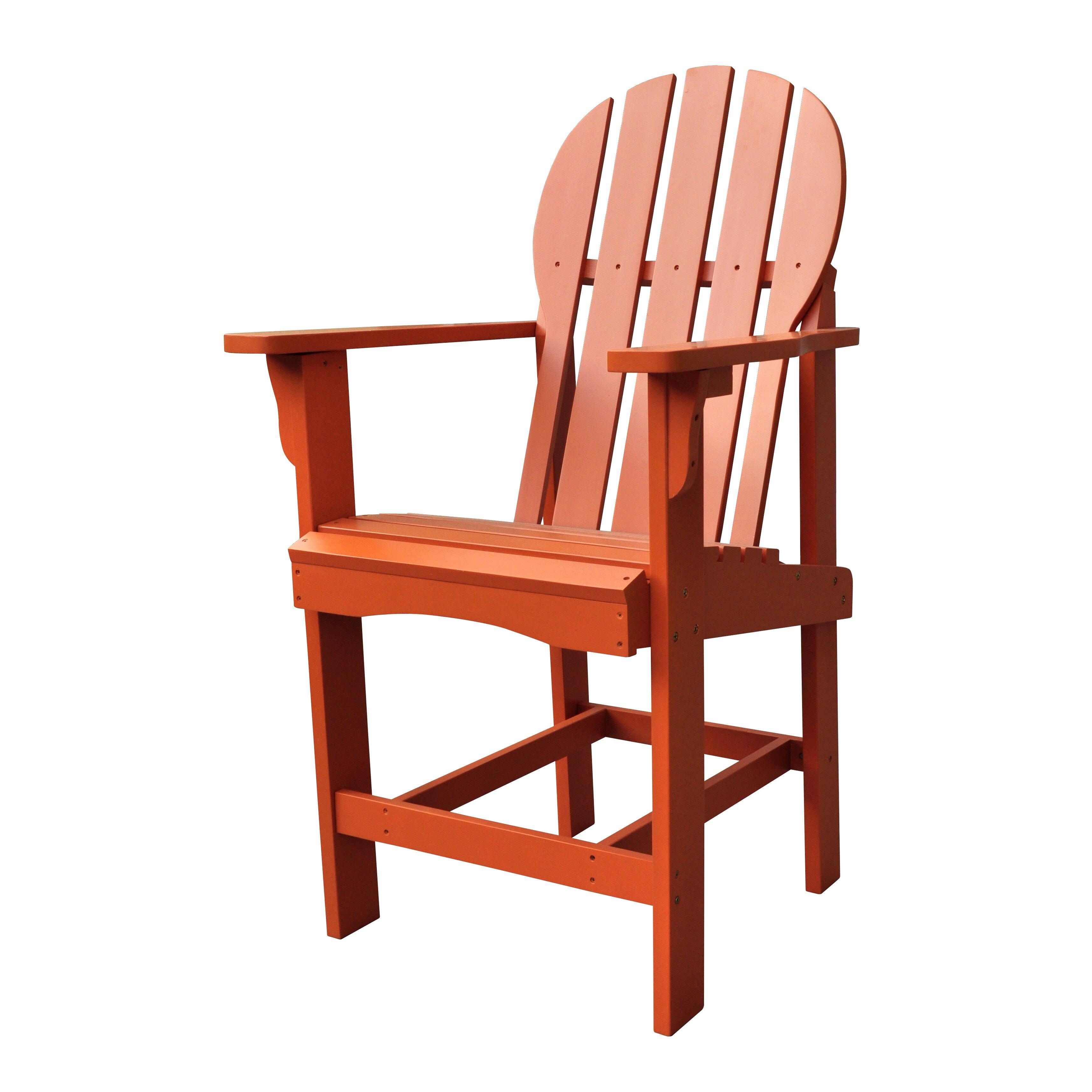 Shine pany Inc Captiva Counter Height Adirondack Chair
