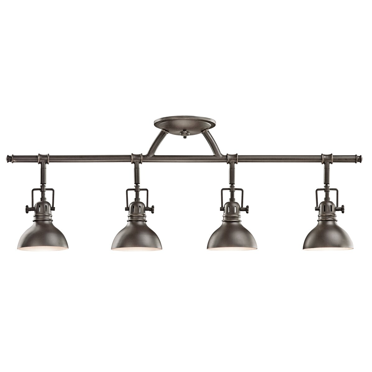 Light Fixtures Kitchen: Kichler 4 Light Semi Flush Mount & Reviews