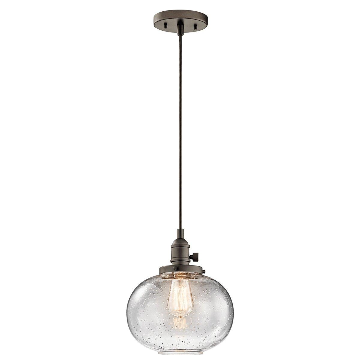 Kichler avery 1 light mini pendant reviews wayfair for Kichler kitchen pendant lighting