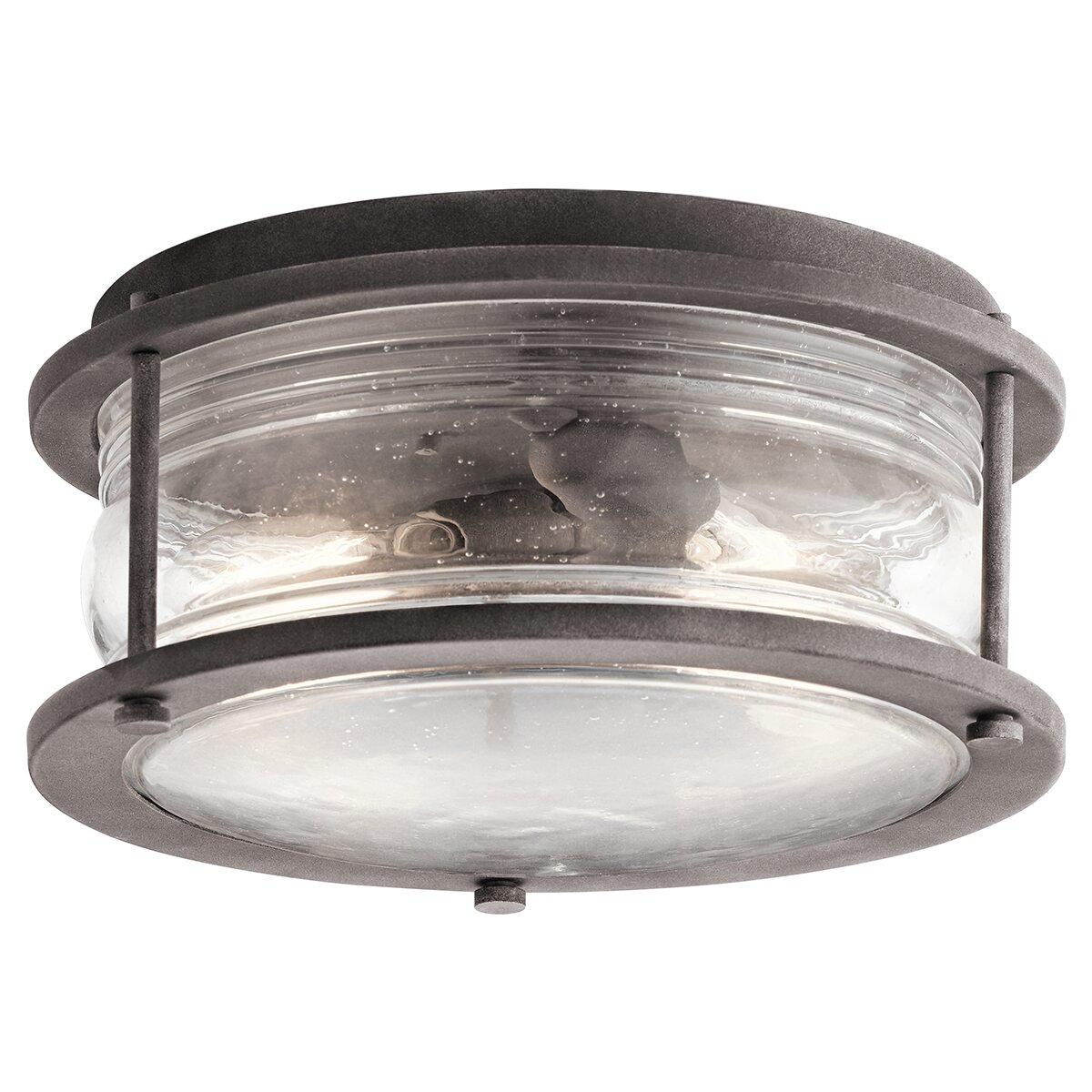 McAdams 2 Light Outdoor Flush Mount