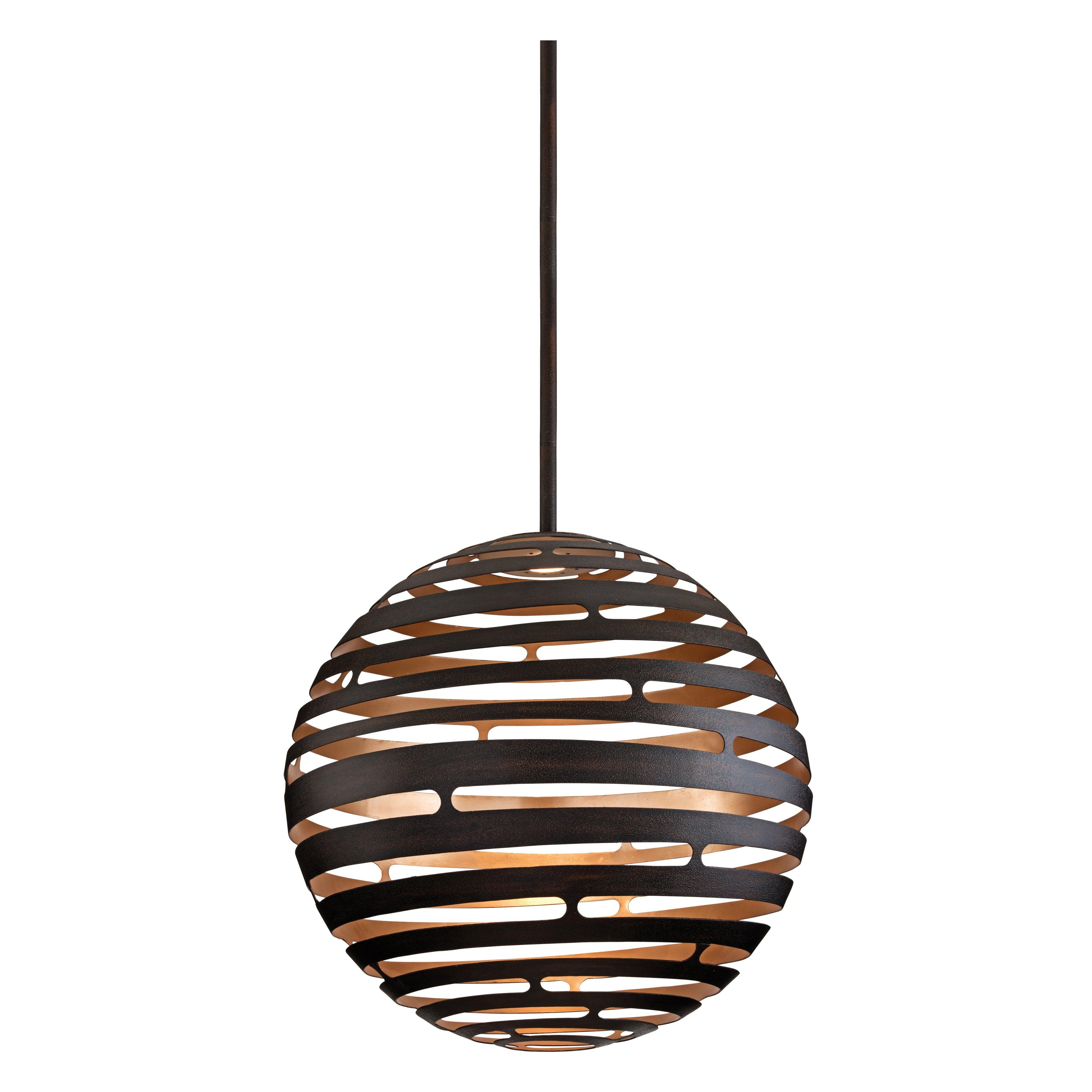Corbett Lighting Tango LED Globe Pendant & Reviews