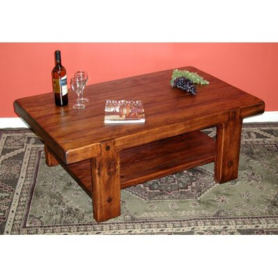 2 day russian river coffee table reviews wayfair for Table design river