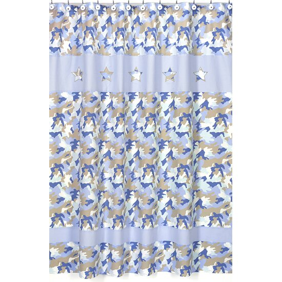 Camo Shower Curtain Wayfair