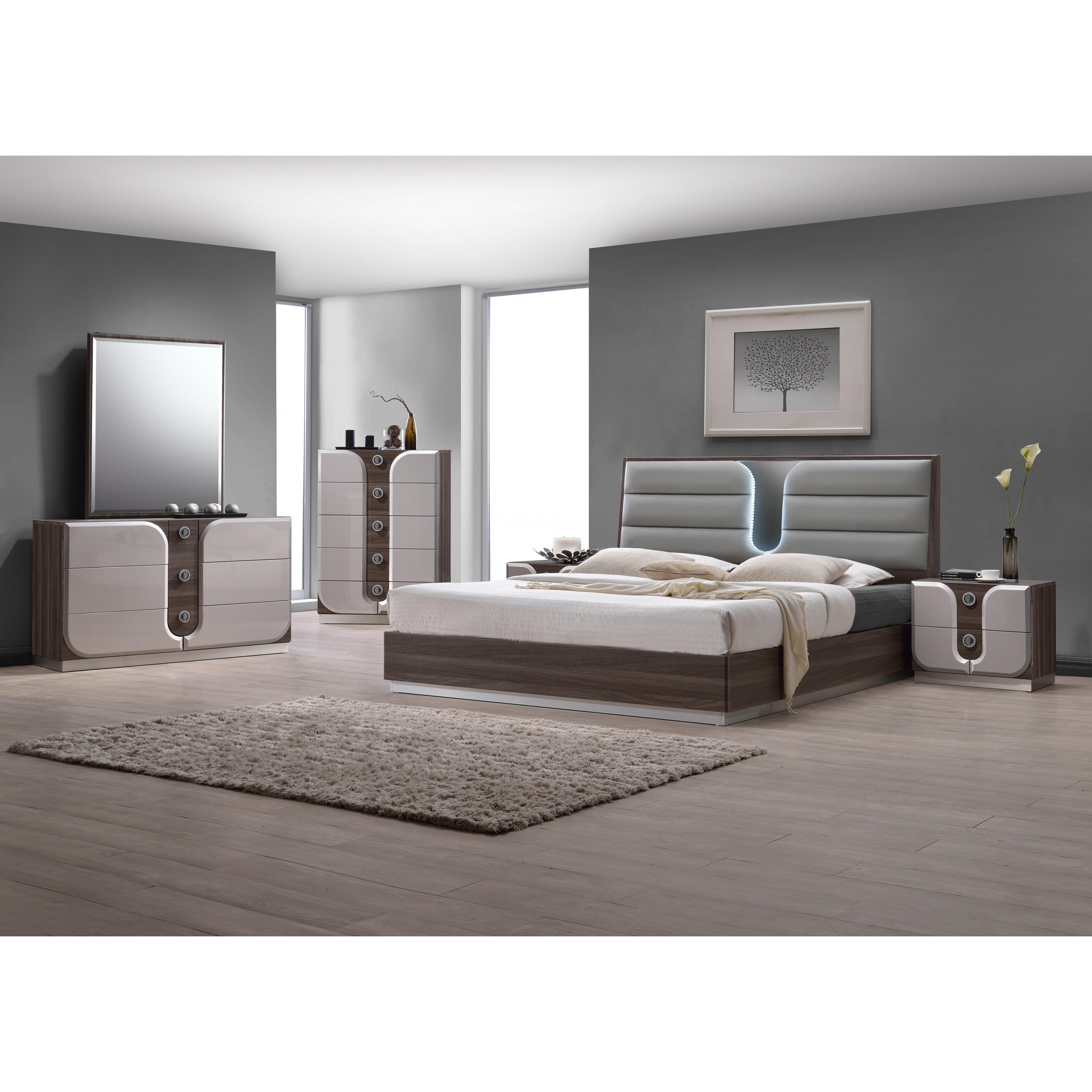 chintaly london panel customizable bedroom set reviews wayfair