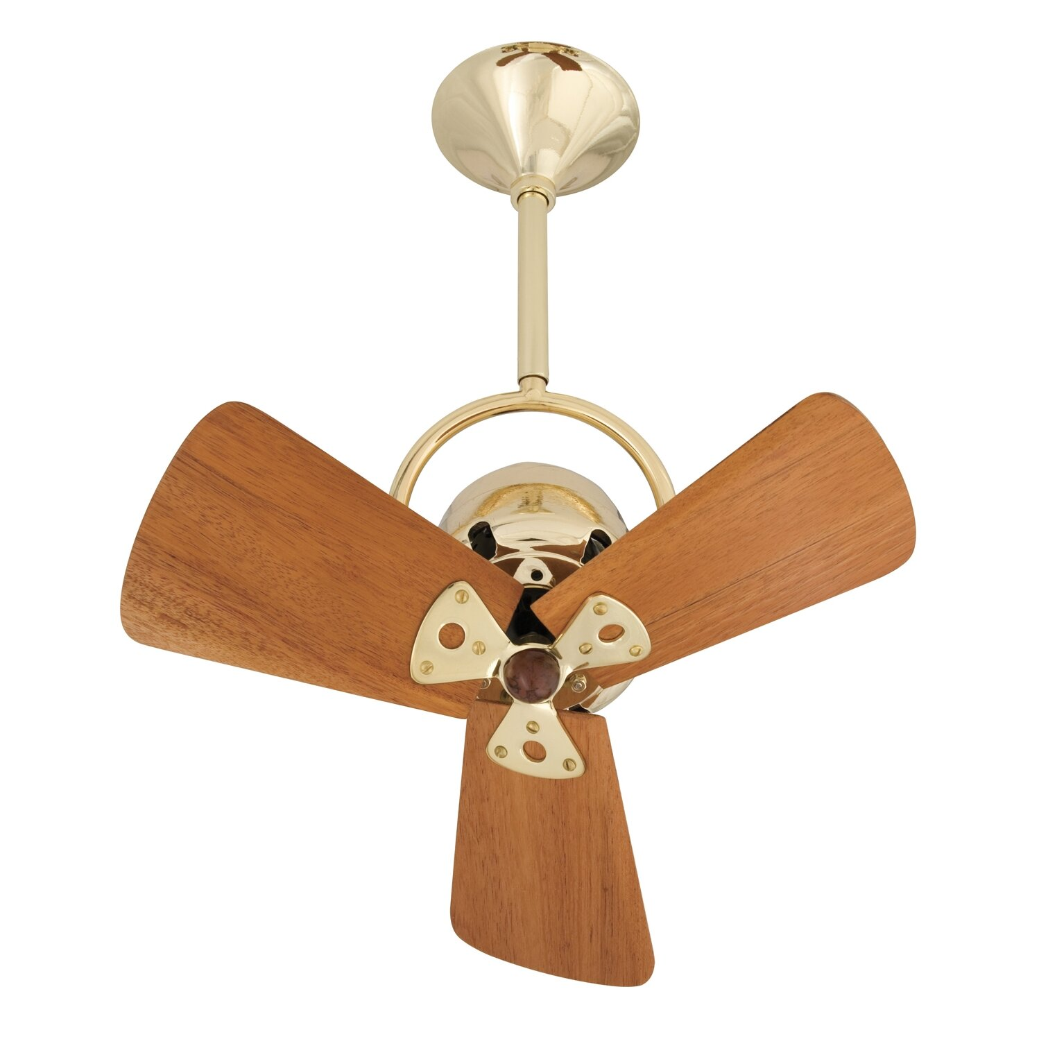 13 Quot Bianca 3 Metal Blade Directional Outdoor Ceiling Fan
