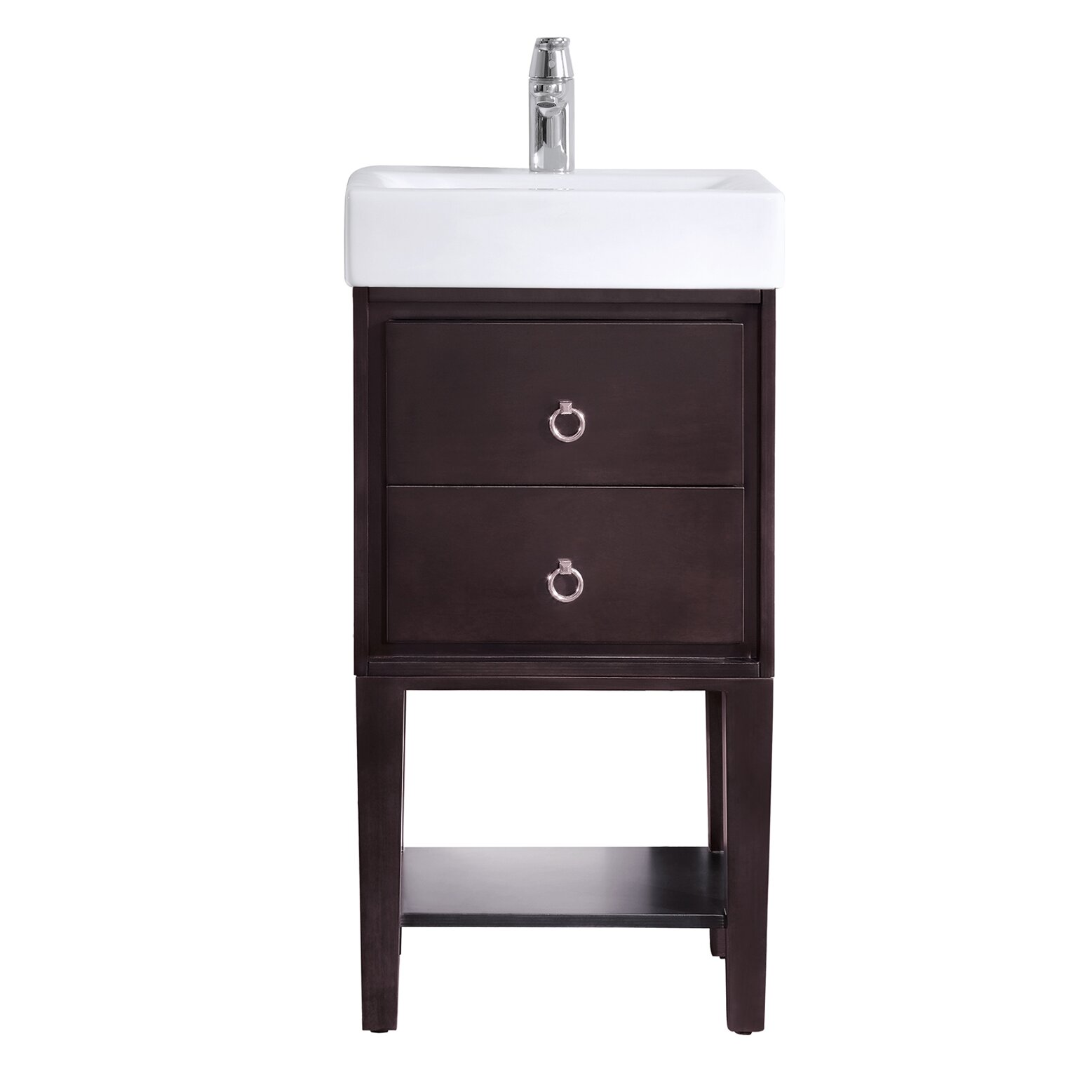 Avanity Kent 18quot; Single Modern Bathroom Vanity Set amp; Reviews  Wayfair