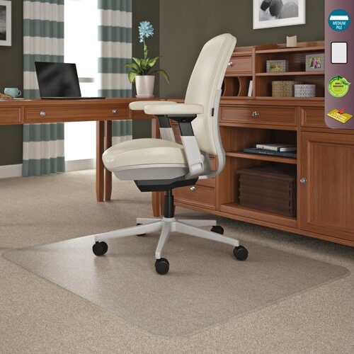 corporation classic rolla plush pile carpet beveled edge chair mat