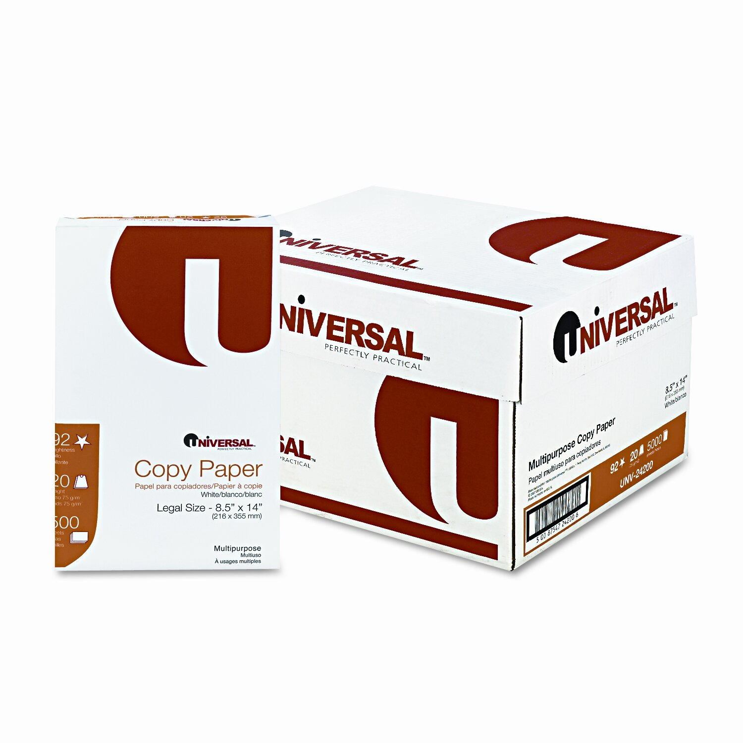 universal copy paper Business-weight, colored, recycled office paper colors recycled colored paper is ideal for coding documents or for adding pizzazz to flyers and promotional materials.