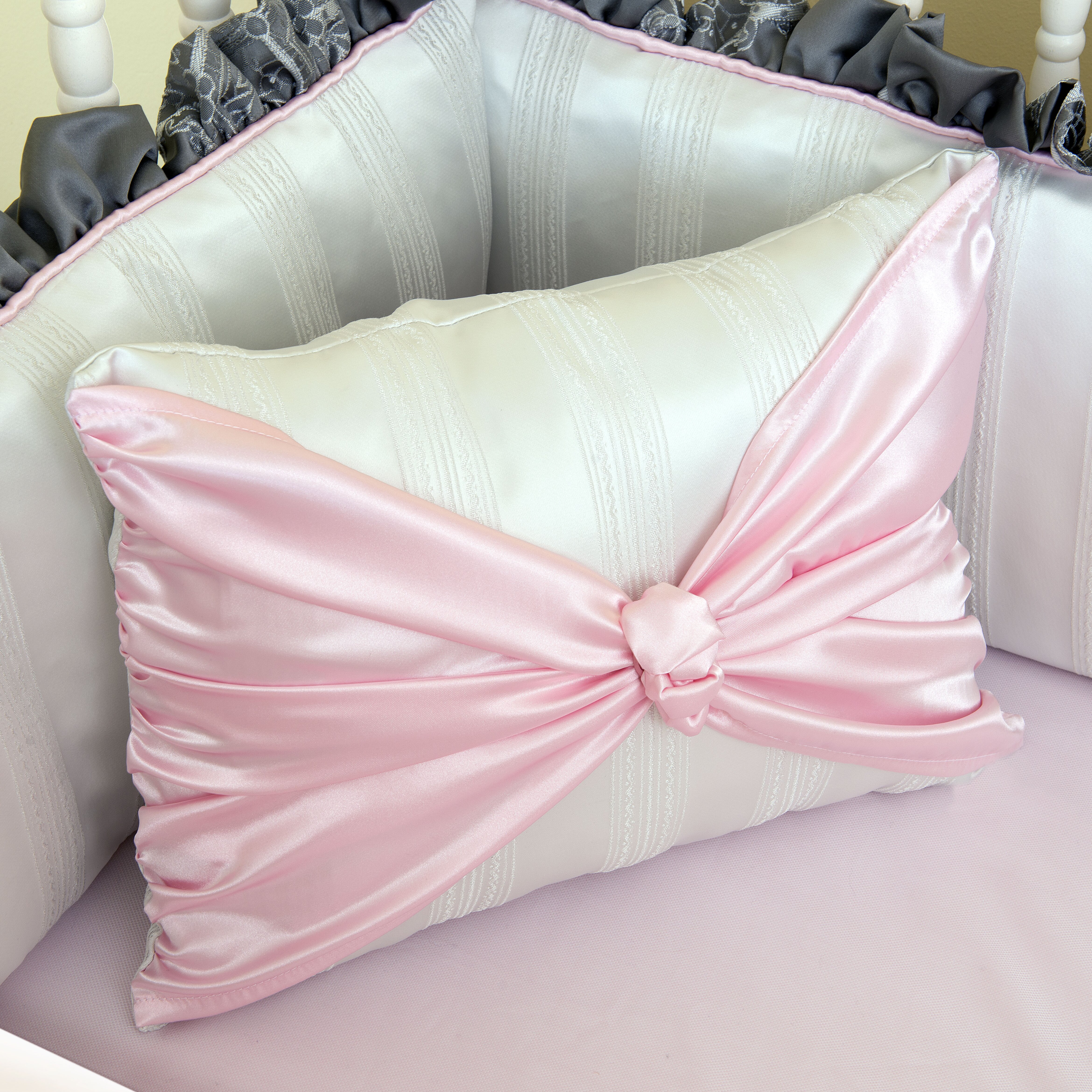 sophia bow pillow wayfair. Black Bedroom Furniture Sets. Home Design Ideas