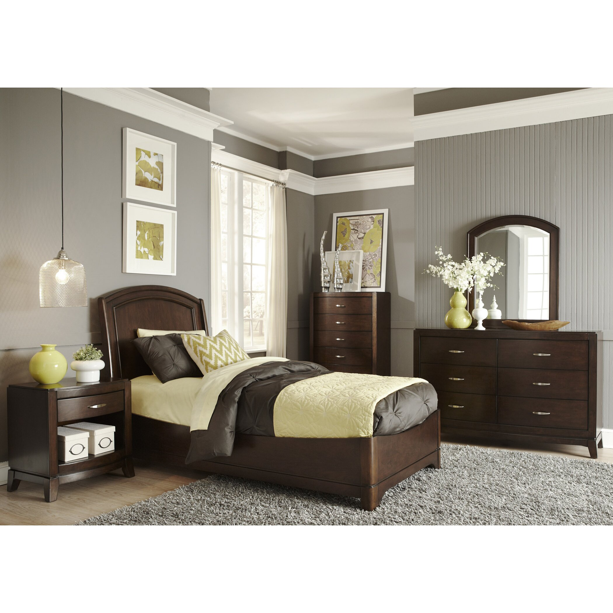 Liberty Furniture Platform Customizable Bedroom Set Reviews Wayfair
