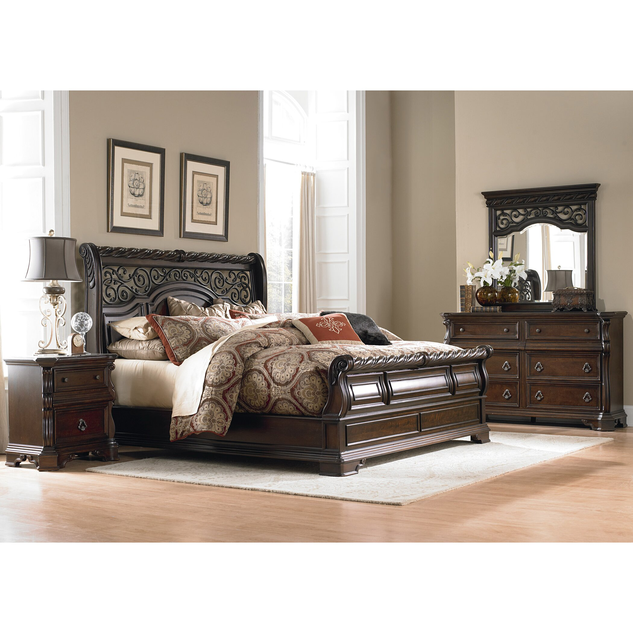 Liberty Furniture Arbor Place Sleigh Customizable Bedroom Set Reviews Wayfair