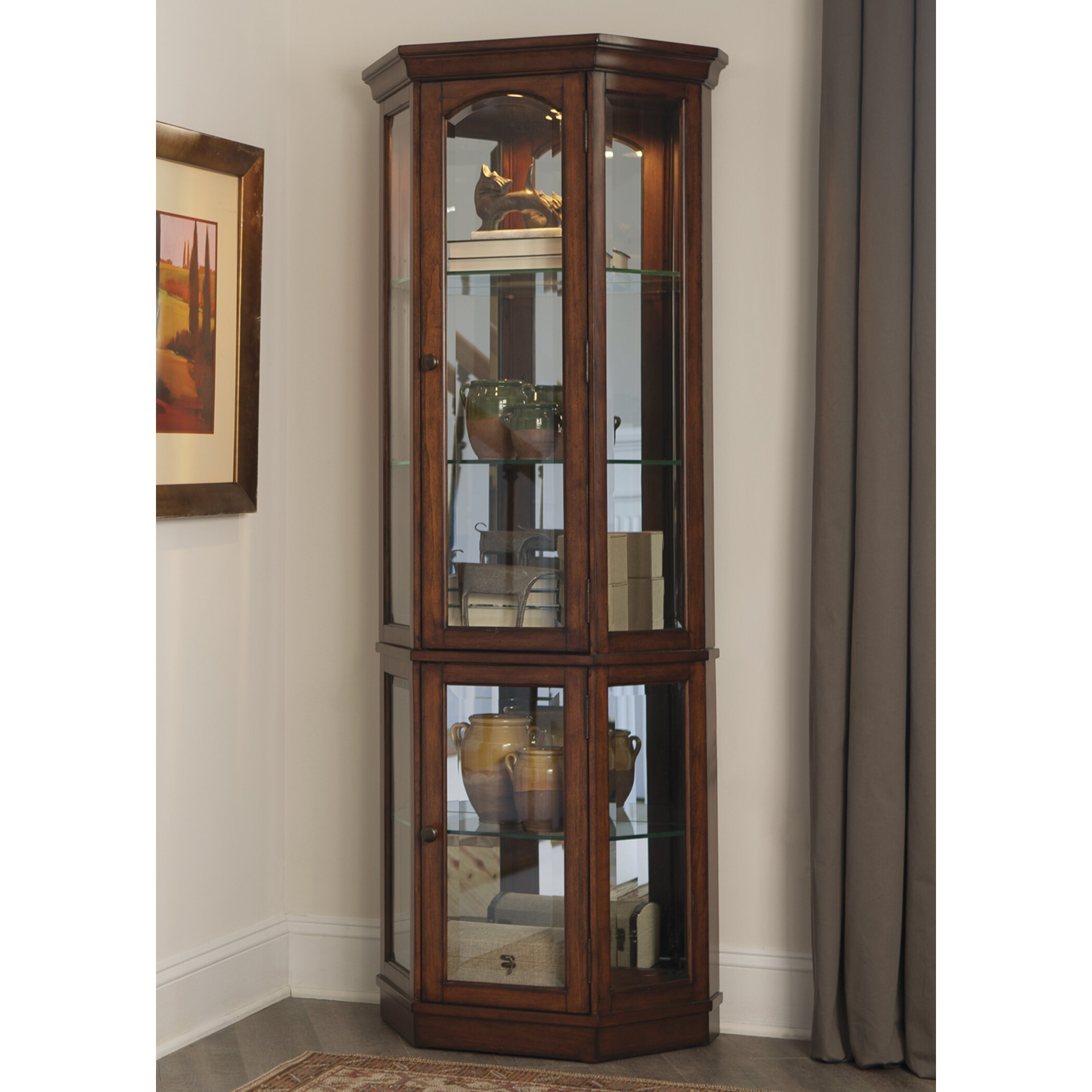 Clearance Cabinets: Curio Cabinet
