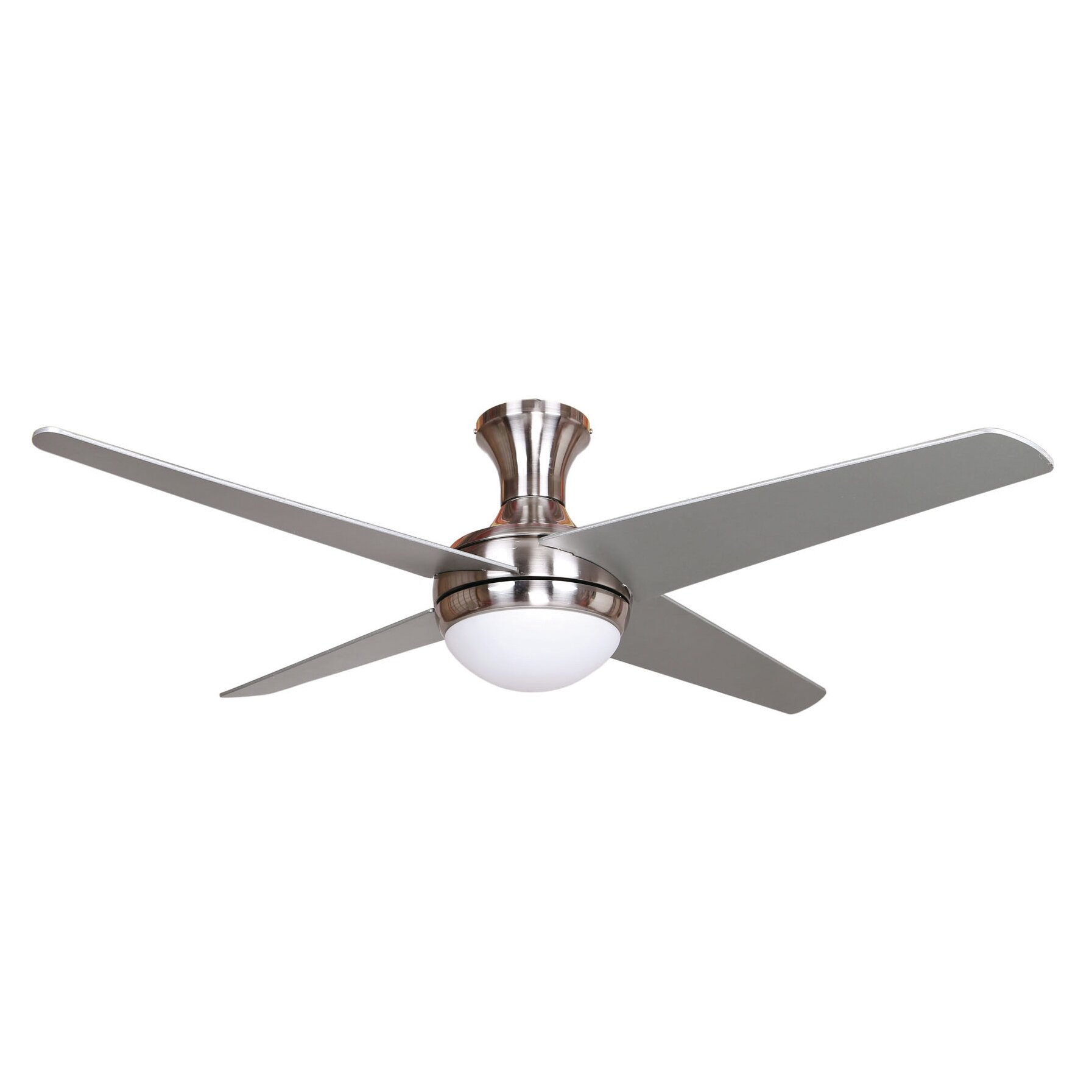 Yosemite Home Decor 52 Taysom 4 Blade Ceiling Fan Reviews Wayfair