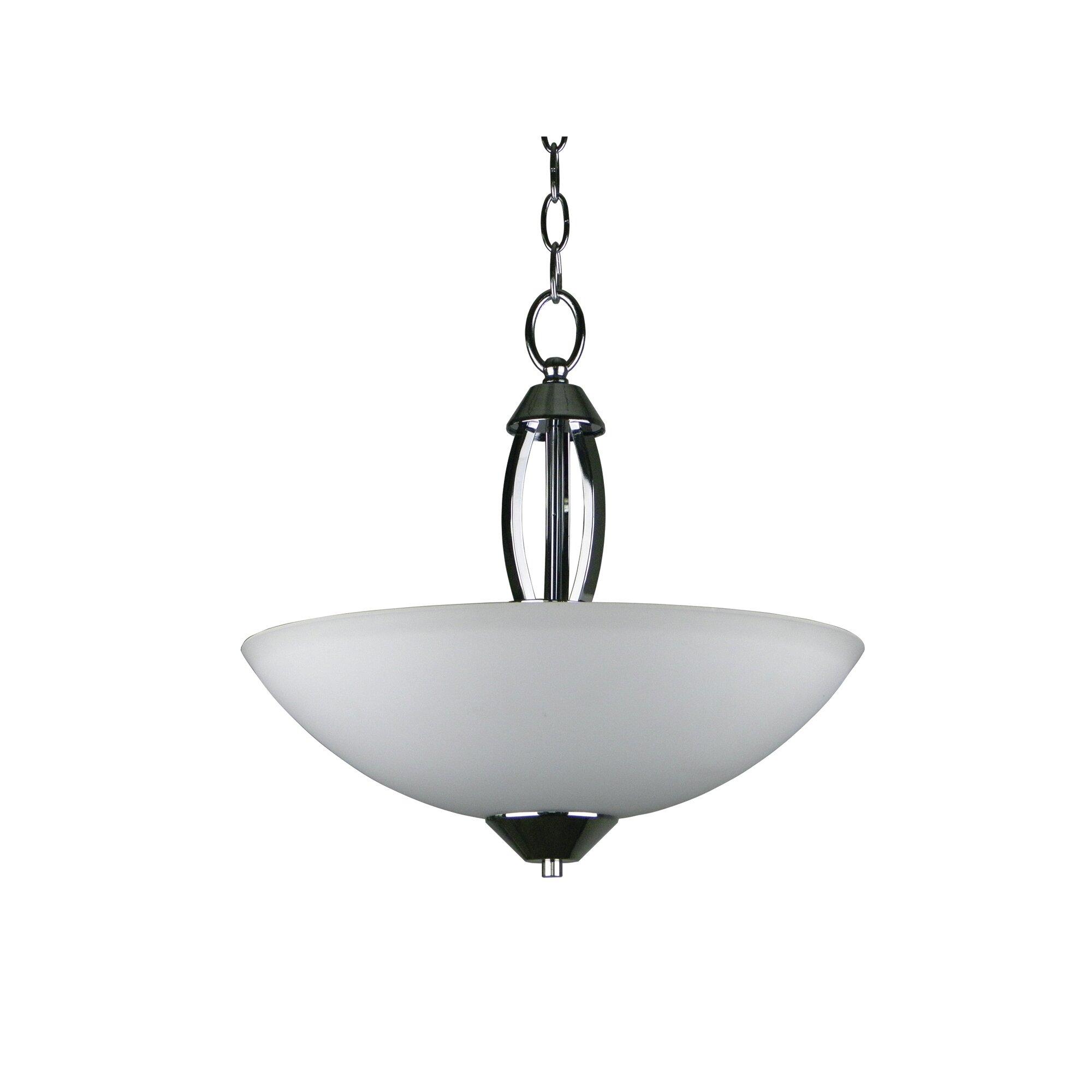 paloma 3 light inverted bowl pendant by yosemite home decor. Black Bedroom Furniture Sets. Home Design Ideas