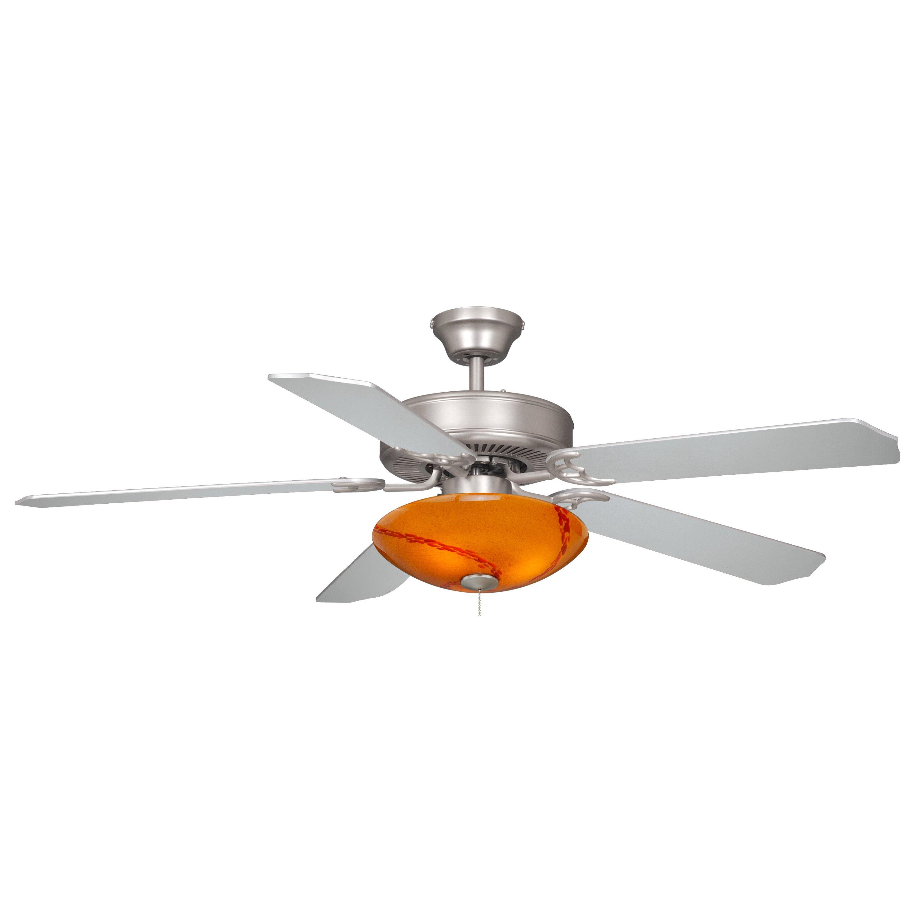 Milano 3 Light Bowl Ceiling Fan Light Kit