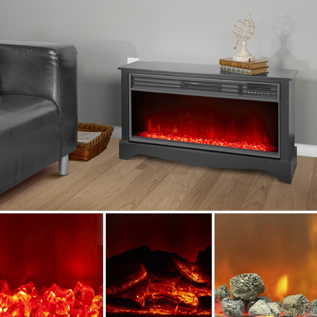 Lifesmart Lifezone Infrared Fireplace Reviews Wayfair