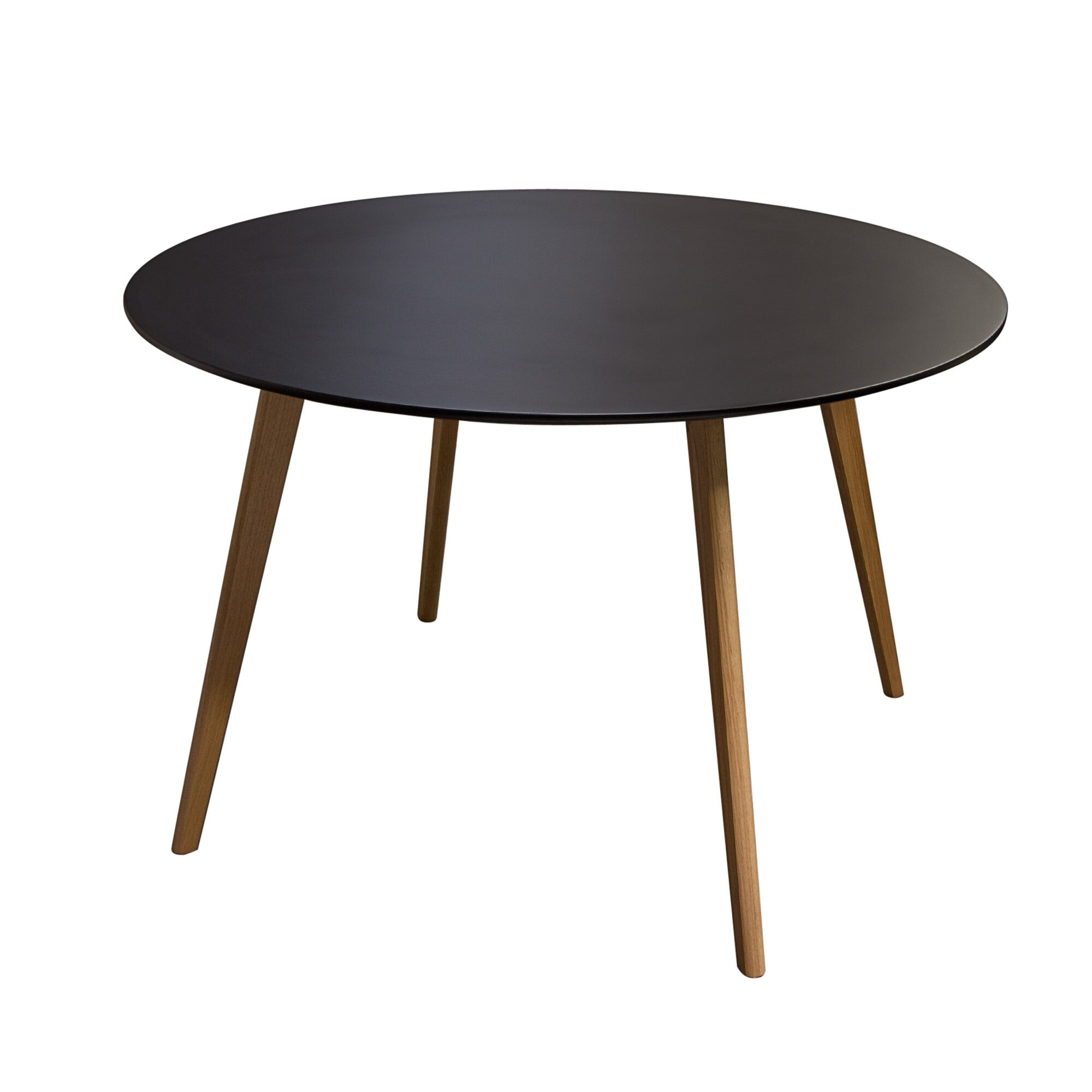 Contemporary Round Dining Table For 6 Modern Kitchen Dining Tables Allmodern