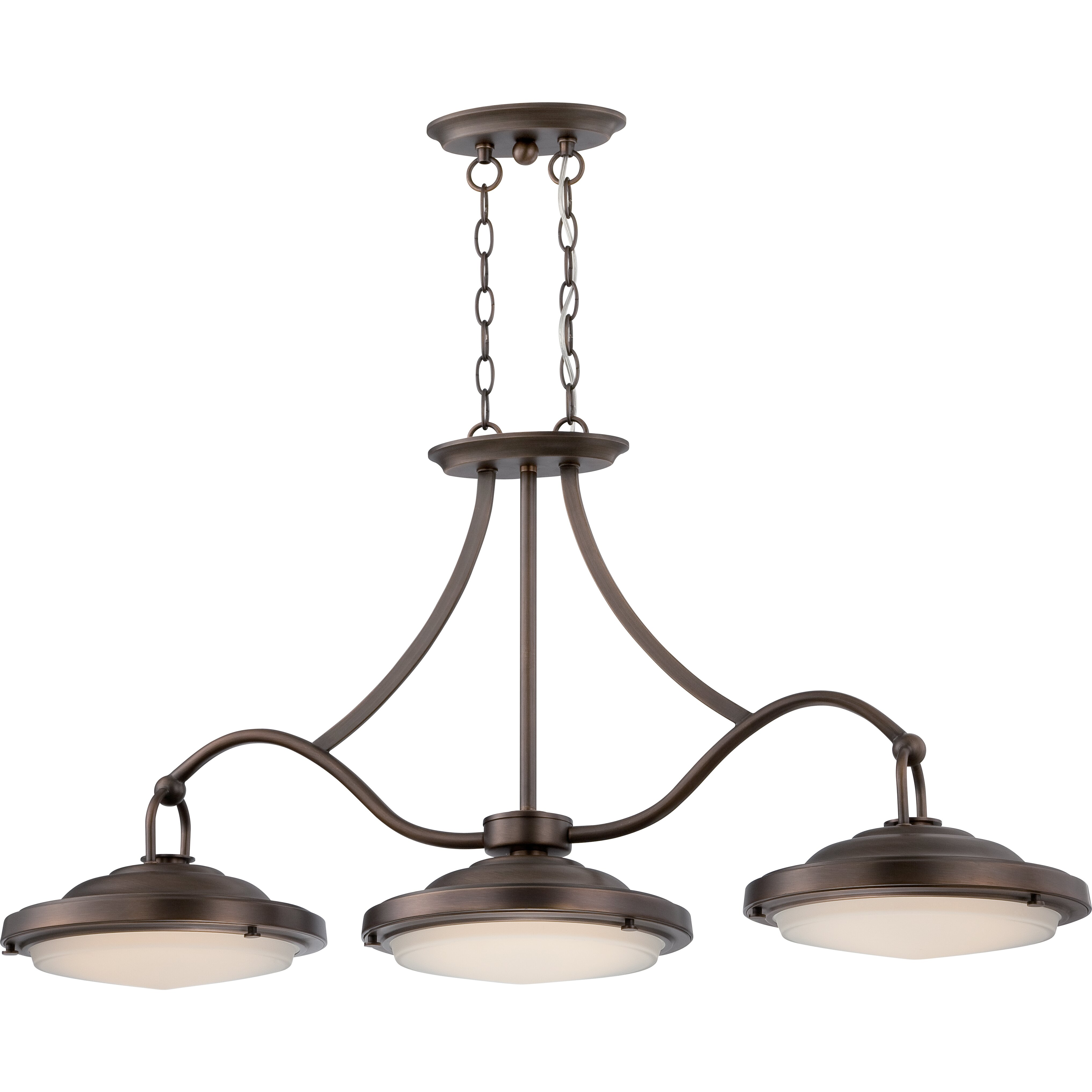 Kitchen Island Pendant Lighting: Sawyer 3 Light Kitchen Island Pendant