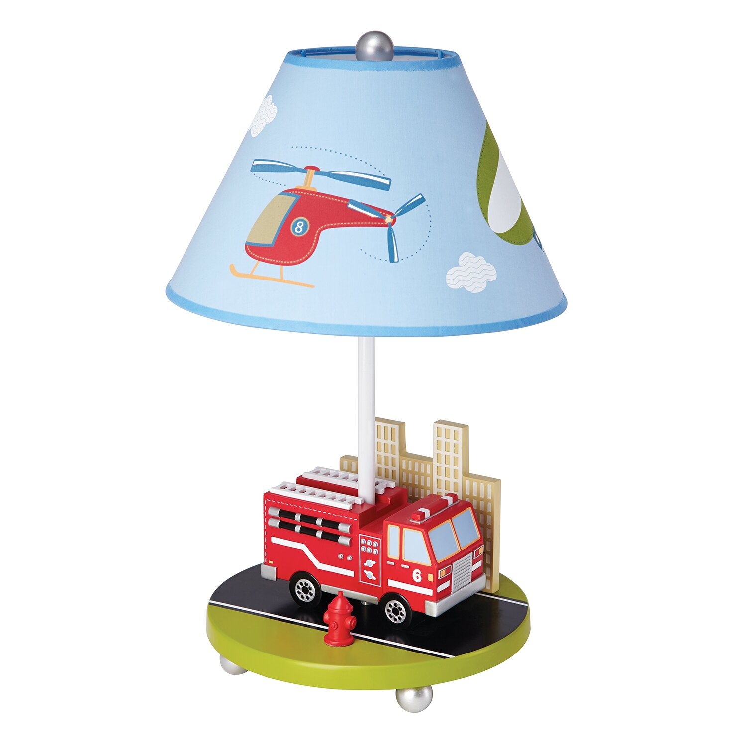 Sunset Empire Transportation Schedule Guidecraft Moving All Around H Table Lamp With