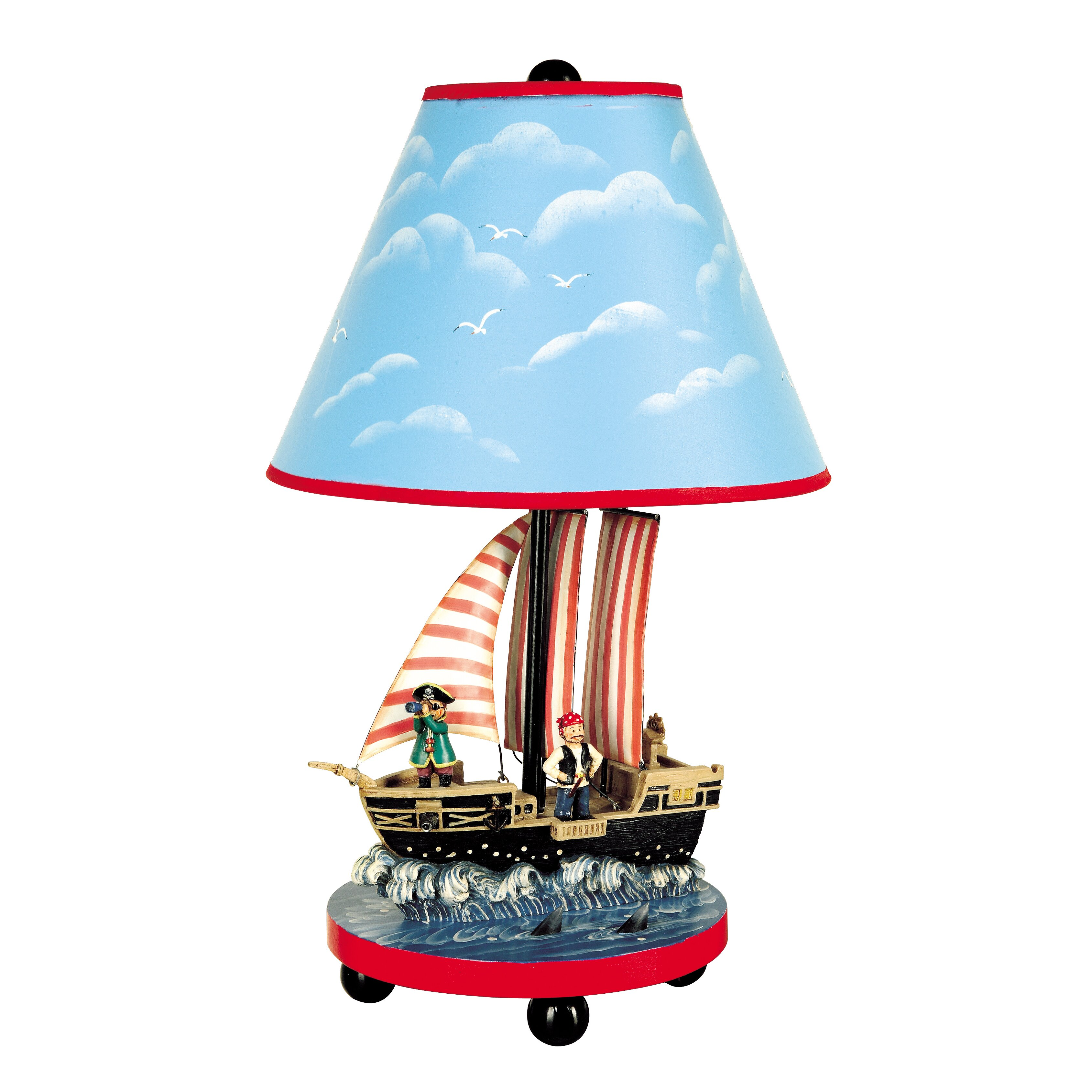 Sunset Empire Transportation Schedule Guidecraft Pirate D H Table Lamp With Empire