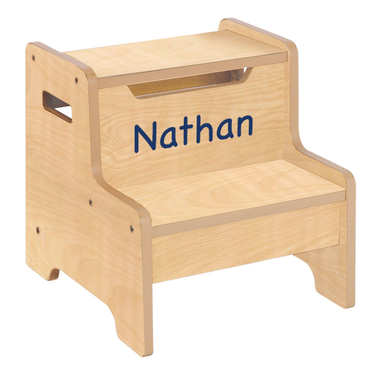 Guidecraft Personalized Furniture 2 Step Manufactured Wood