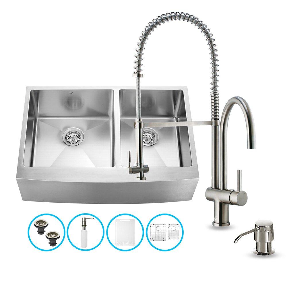 Kitchen Sinks Vigo Part #: VG15211 SKU: VGU2167
