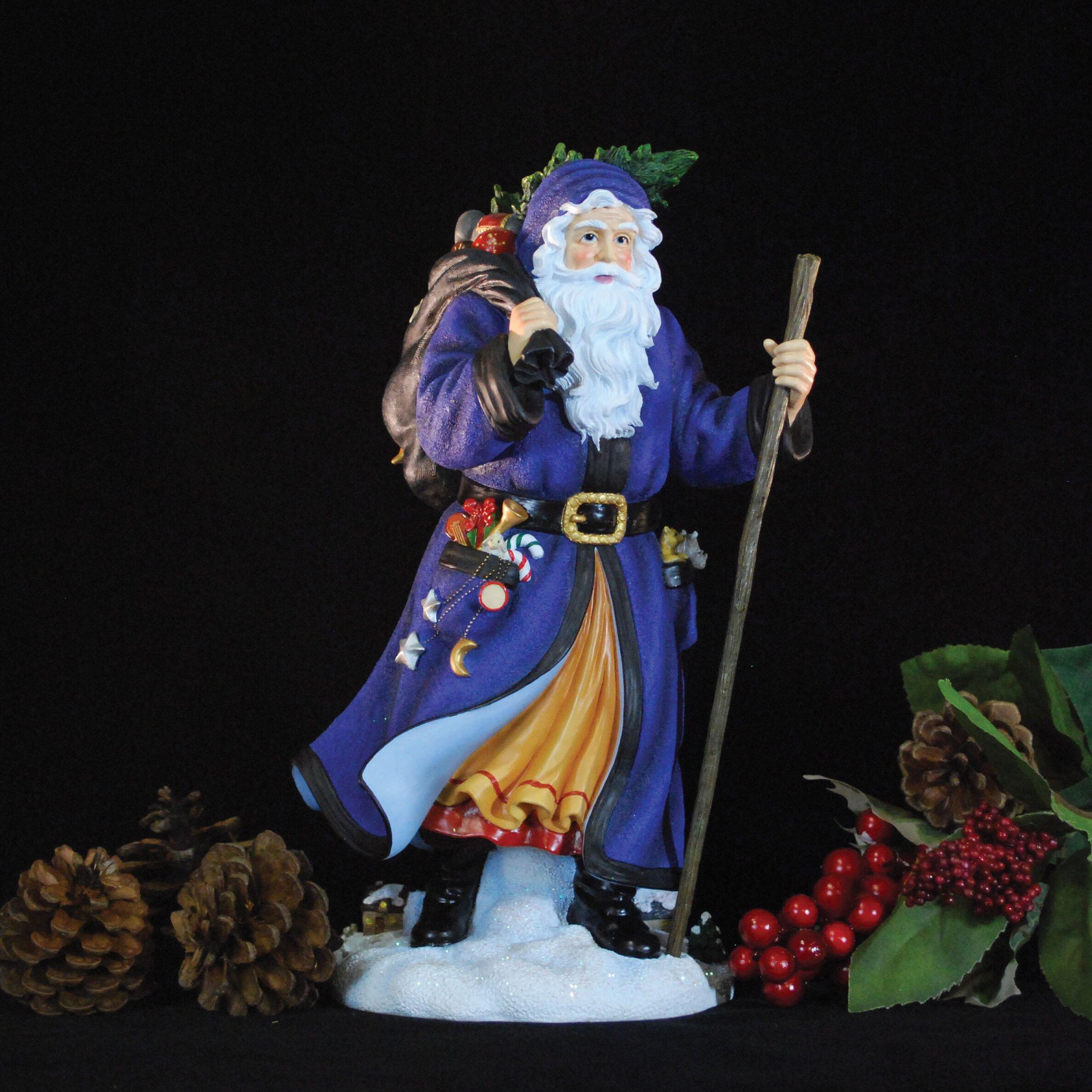 Precious Moments Loving Is Caring Precious Moments Tannenbaum Santa Limited Edition Santa In