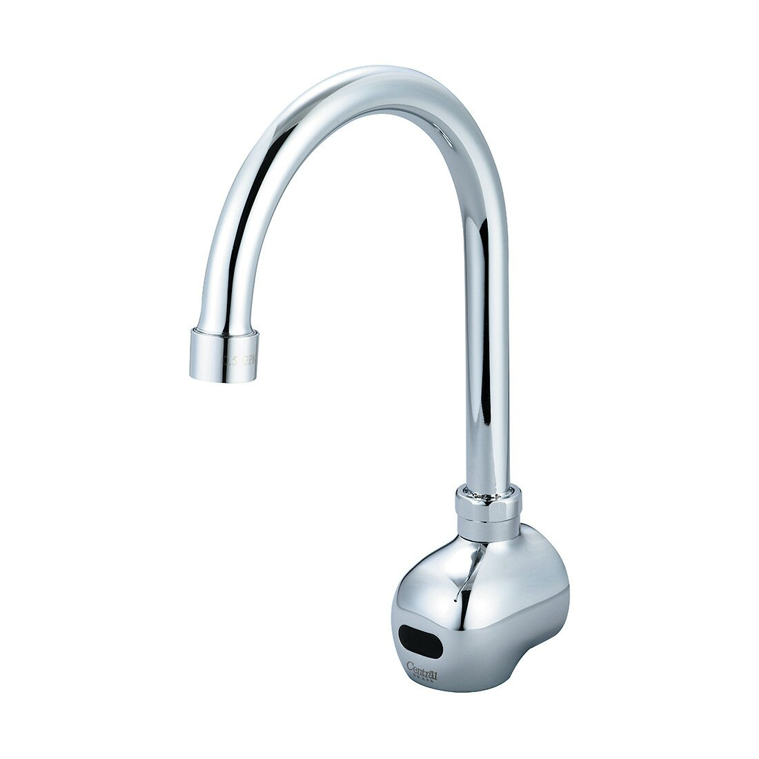 Single Hole Gooseneck Wall Mounted Electronic Faucet Wayfair