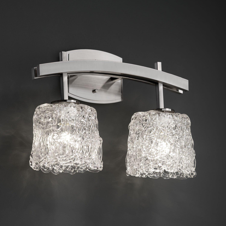 Justice Bathroom Lighting: Justice Design Group Archway 2 Light Bath Vanity Light