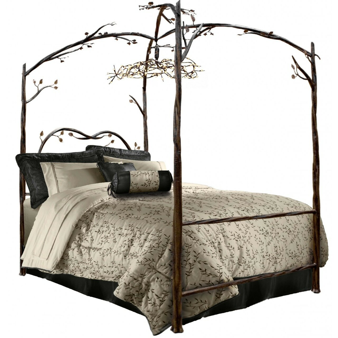 Queen Canopy Bed: Canopy Bed